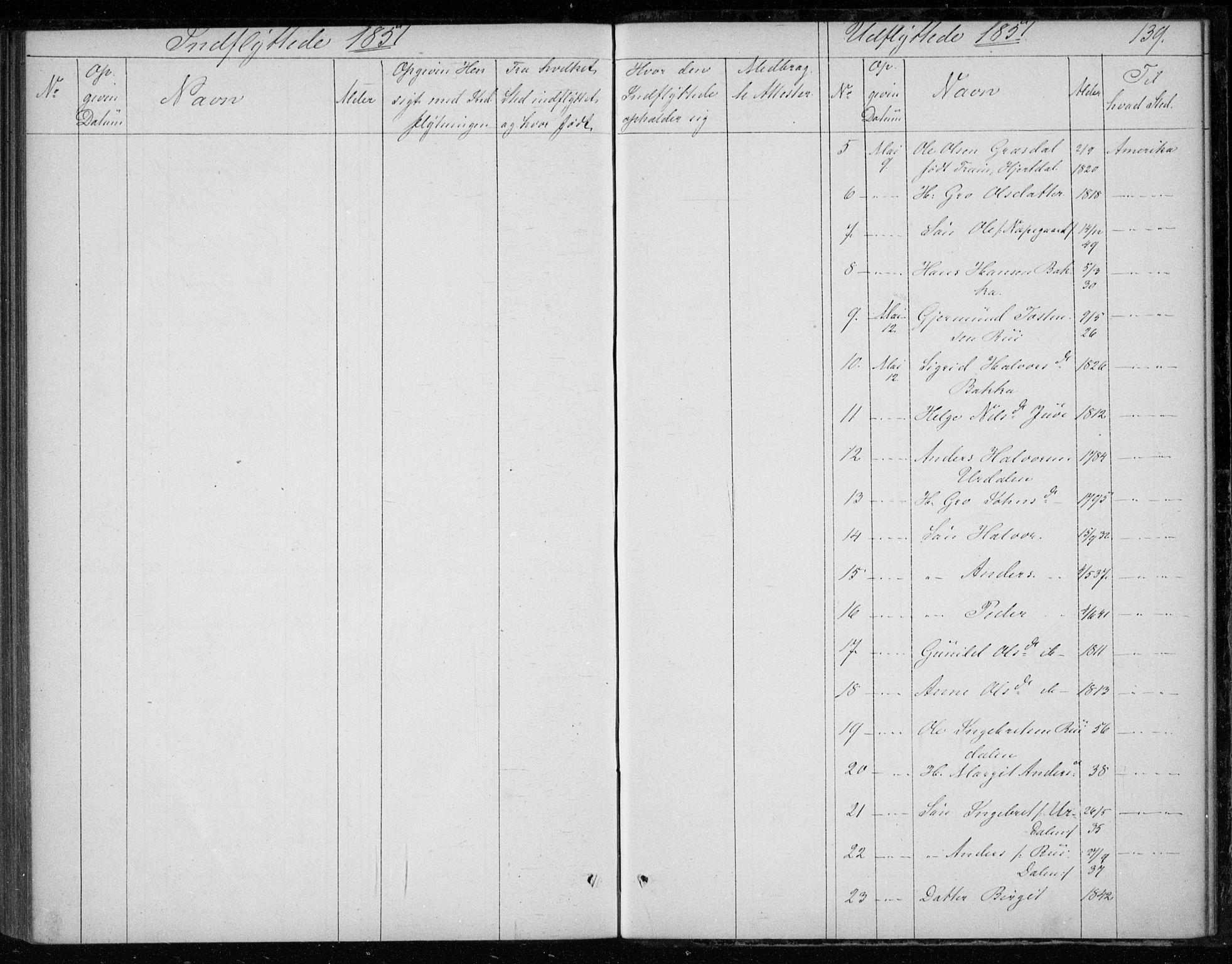 SAKO, Gransherad kirkebøker, F/Fb/L0003: Ministerialbok nr. II 3, 1844-1859, s. 139