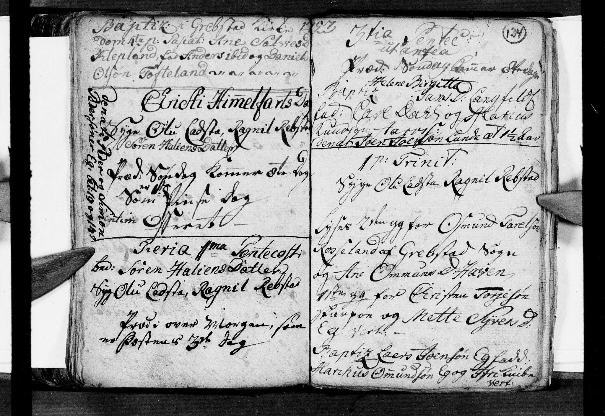 SAK, Søgne sokneprestkontor, F/Fa/Fab/L0003: Ministerialbok nr. A 3, 1751-1759, s. 124