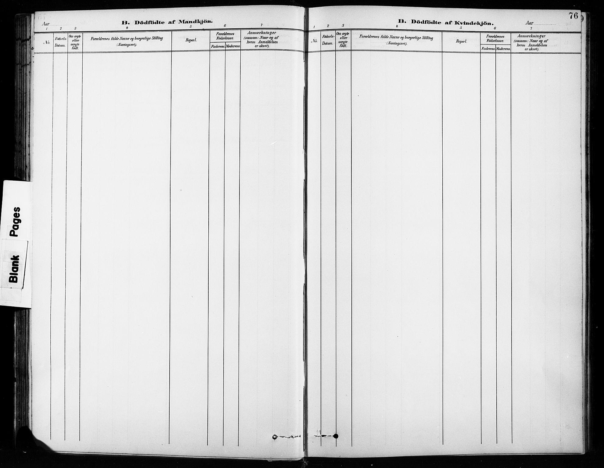 SAH, Vardal prestekontor, H/Ha/Hab/L0010: Klokkerbok nr. 10, 1895-1903, s. 76