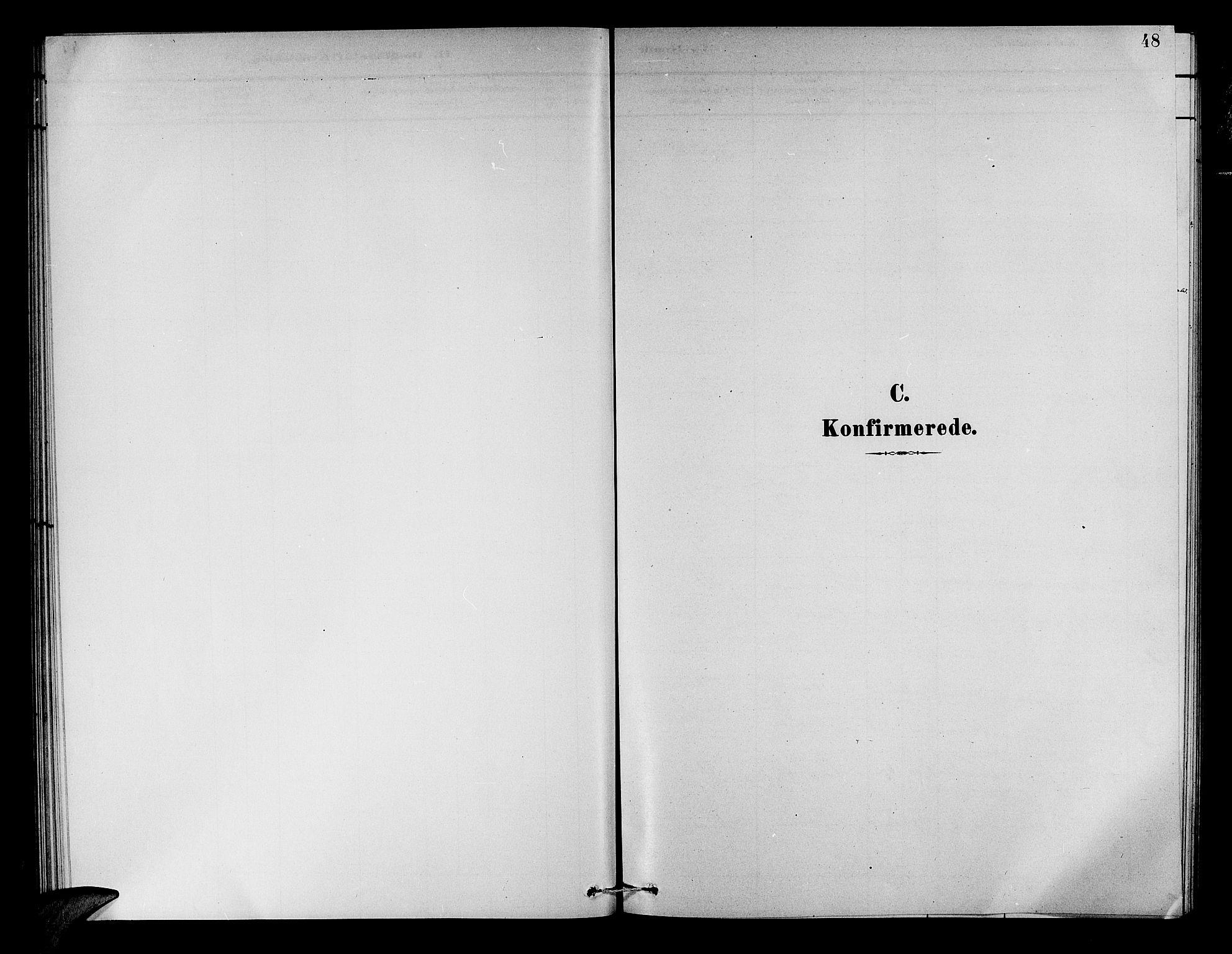 SAB, Aurland Sokneprestembete*, Klokkerbok nr. A 2, 1880-1895, s. 48