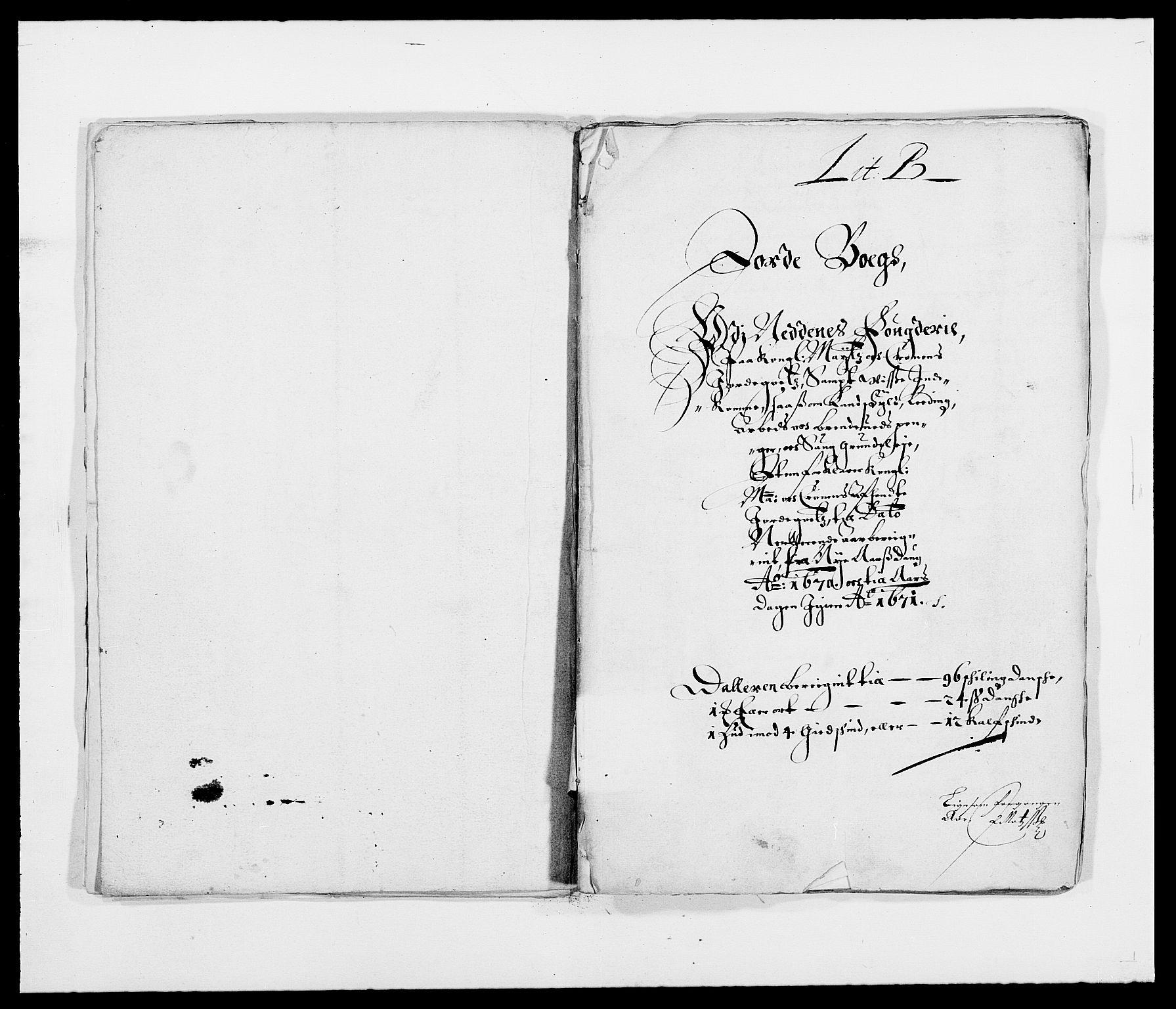 RA, Rentekammeret inntil 1814, Reviderte regnskaper, Fogderegnskap, R39/L2299: Fogderegnskap Nedenes, 1670-1671, s. 17