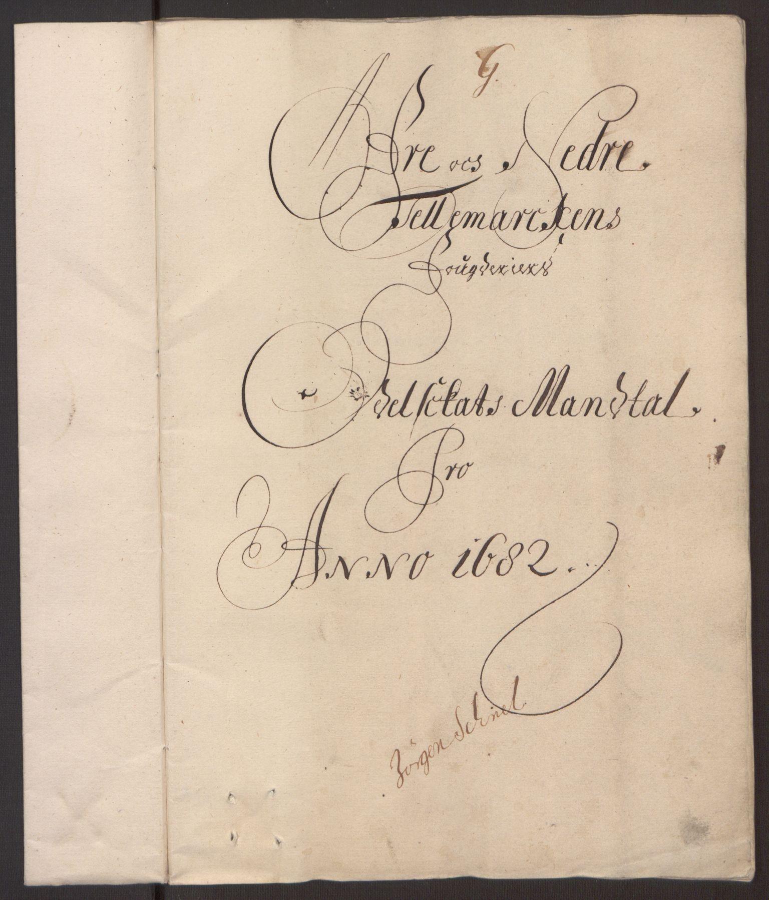 RA, Rentekammeret inntil 1814, Reviderte regnskaper, Fogderegnskap, R35/L2078: Fogderegnskap Øvre og Nedre Telemark, 1680-1684, s. 194