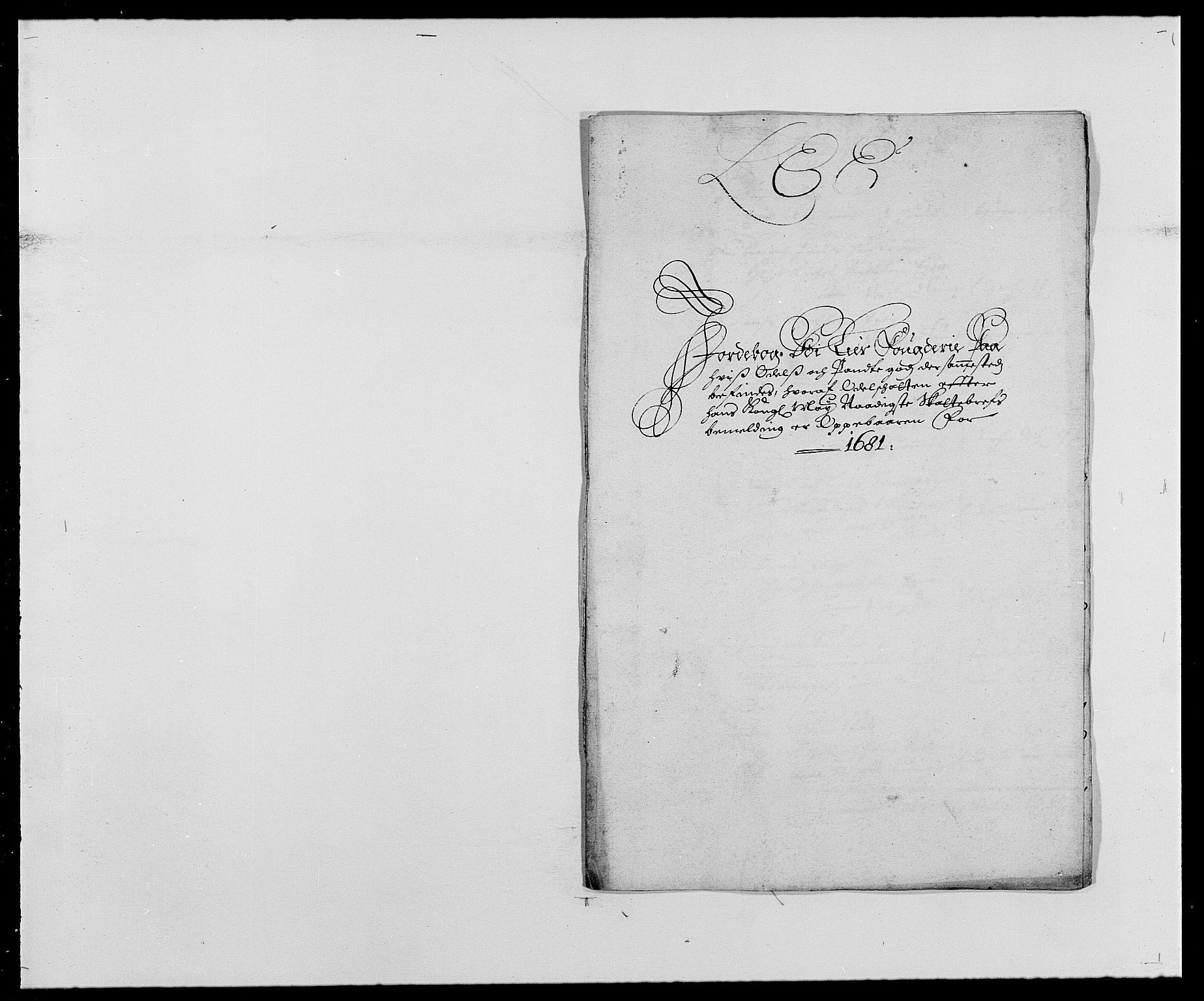 RA, Rentekammeret inntil 1814, Reviderte regnskaper, Fogderegnskap, R27/L1686: Fogderegnskap Lier, 1678-1686, s. 344