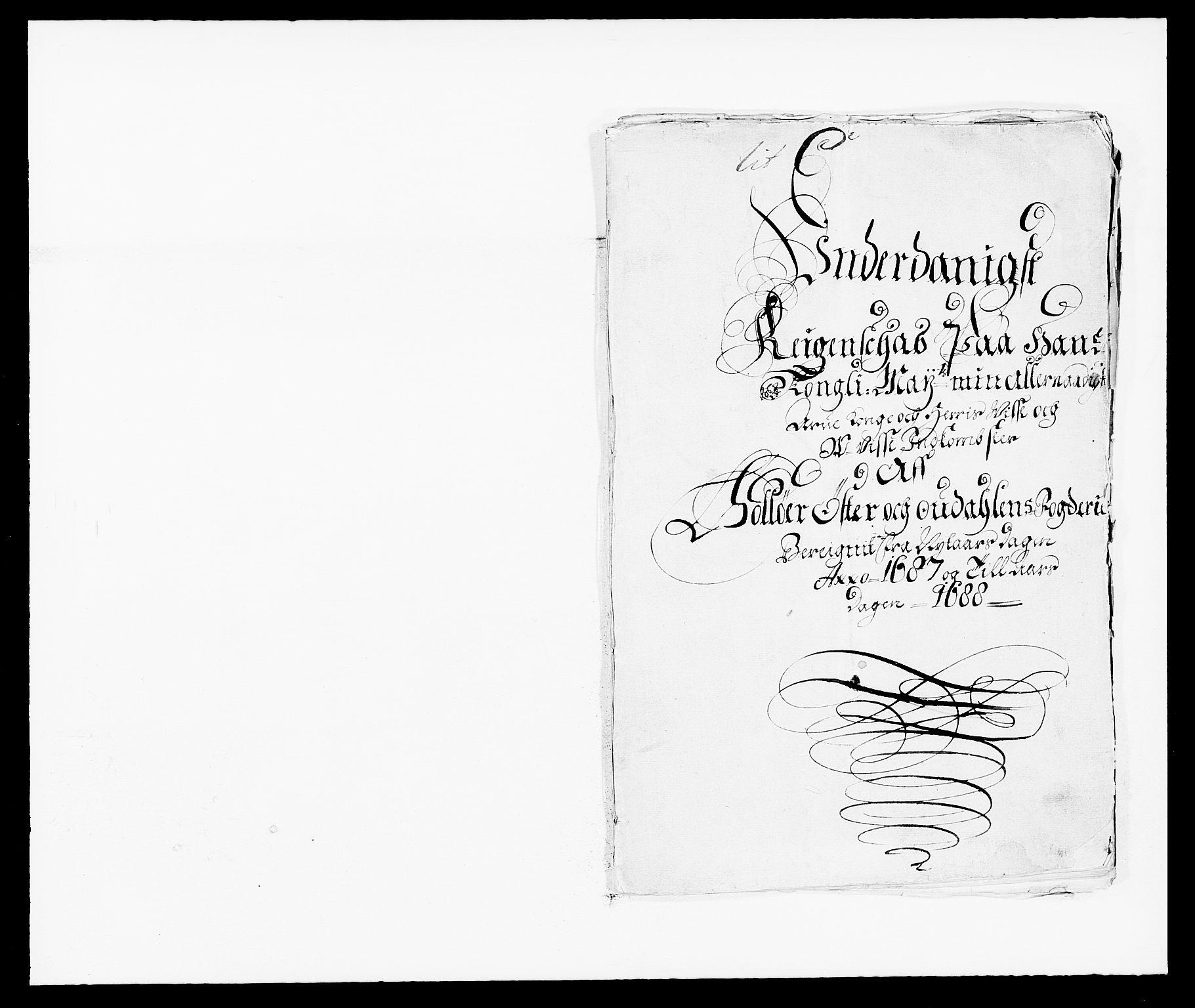 RA, Rentekammeret inntil 1814, Reviderte regnskaper, Fogderegnskap, R13/L0824: Fogderegnskap Solør, Odal og Østerdal, 1687, s. 2