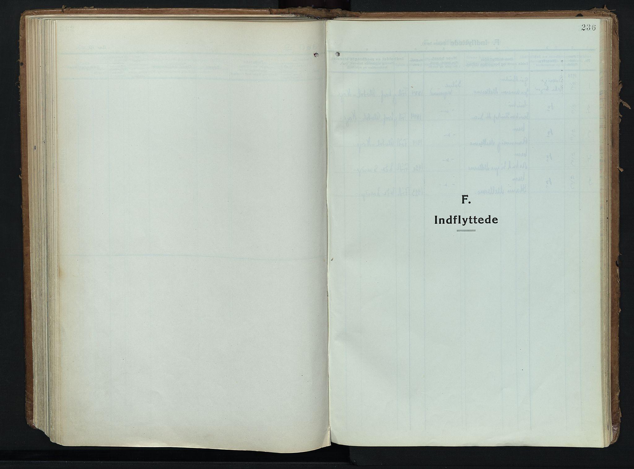 SAH, Alvdal prestekontor, Ministerialbok nr. 6, 1920-1937, s. 236