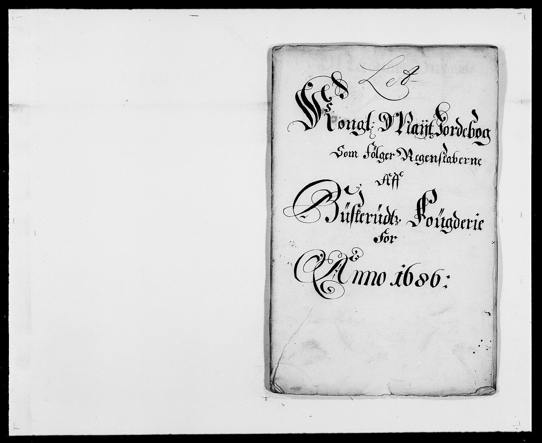 RA, Rentekammeret inntil 1814, Reviderte regnskaper, Fogderegnskap, R25/L1678: Fogderegnskap Buskerud, 1685-1686, s. 228