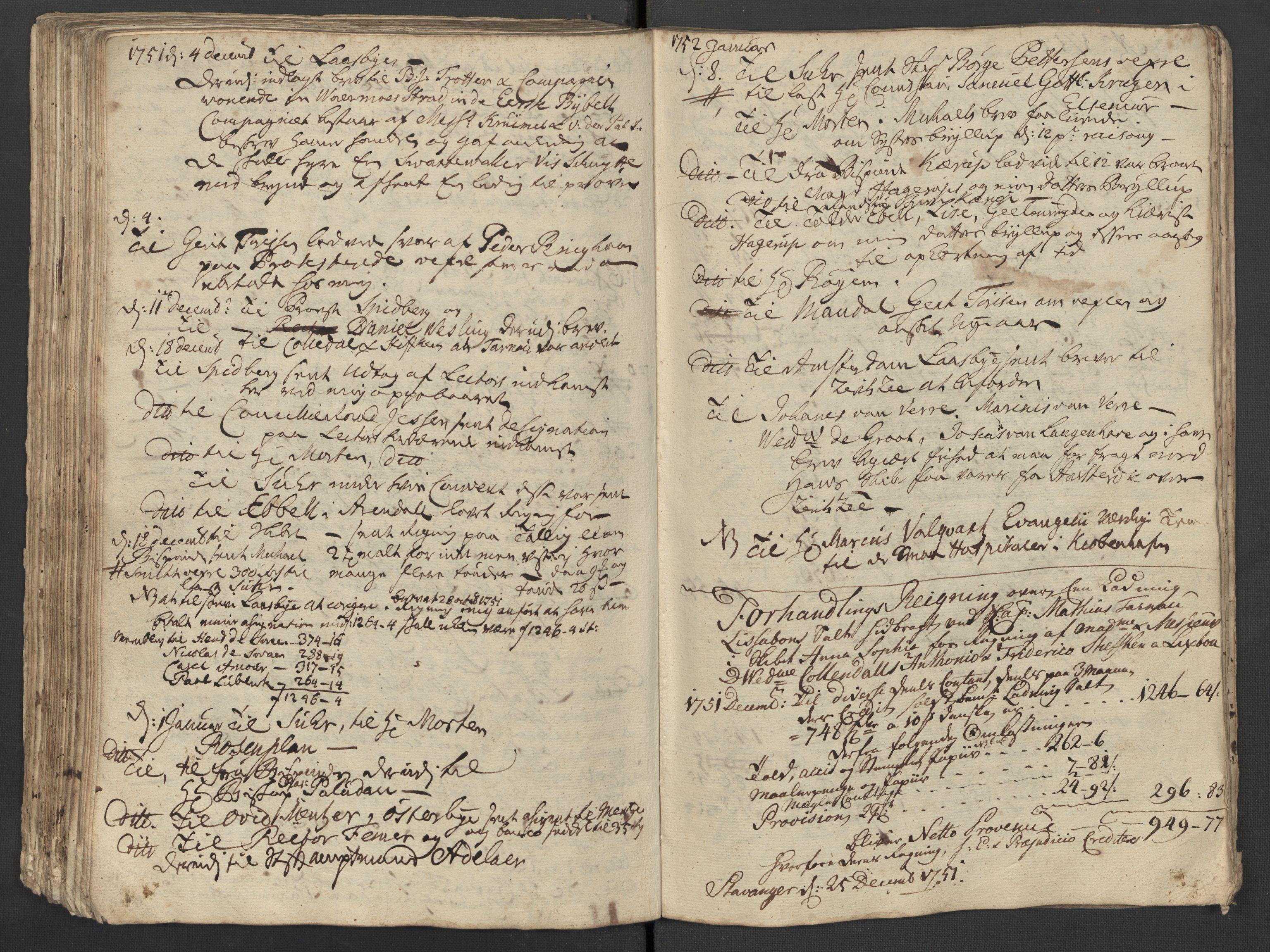 SAST, Pa 0119 - Smith, Lauritz Andersen og Lauritz Lauritzen, O/L0001: Kopibøker m.m., 1746-1755, s. 136