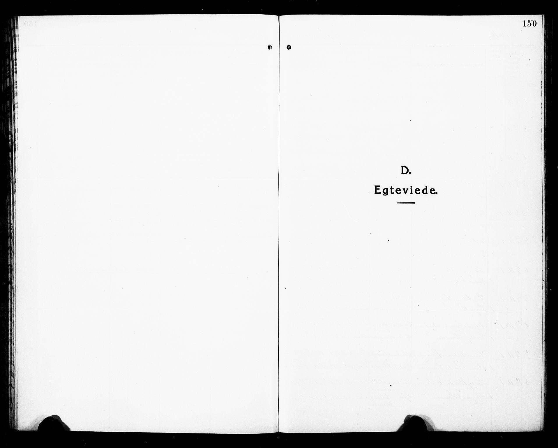 SAKO, Hedrum kirkebøker, G/Ga/L0005: Klokkerbok nr. I 5, 1916-1930, s. 150