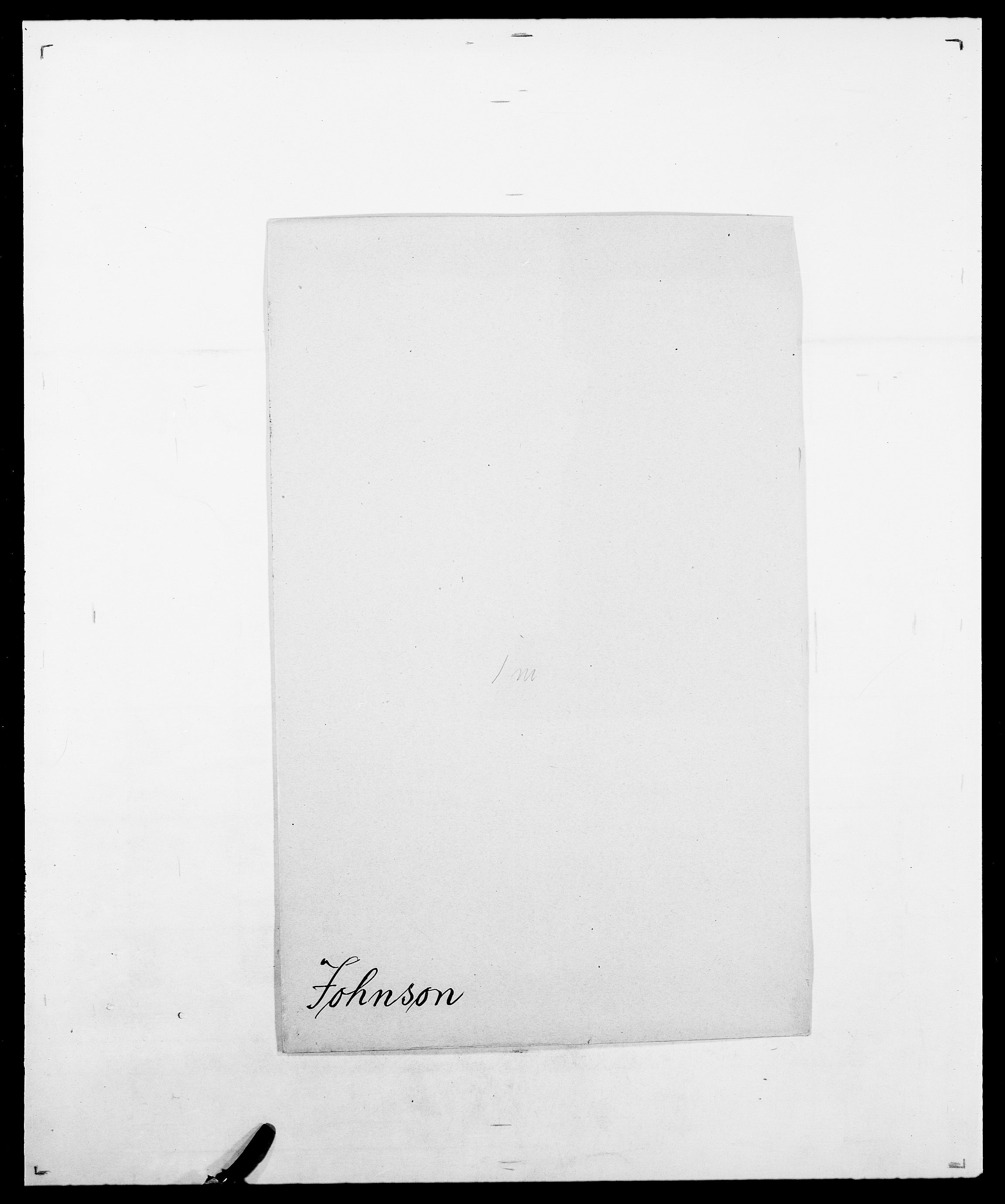 SAO, Delgobe, Charles Antoine - samling, D/Da/L0019: van der Hude - Joys, s. 869