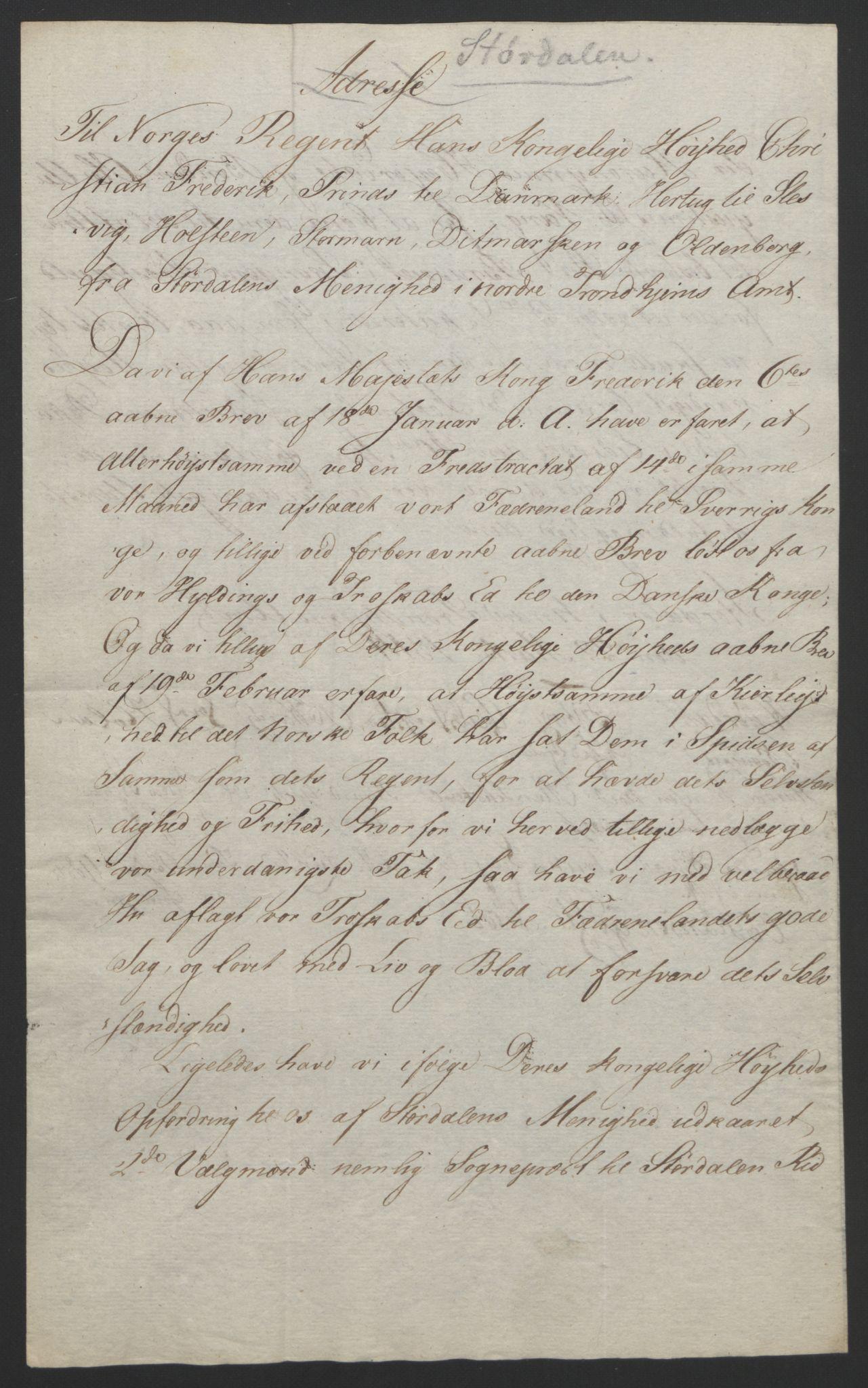 RA, Statsrådssekretariatet, D/Db/L0008: Fullmakter for Eidsvollsrepresentantene i 1814. , 1814, s. 478