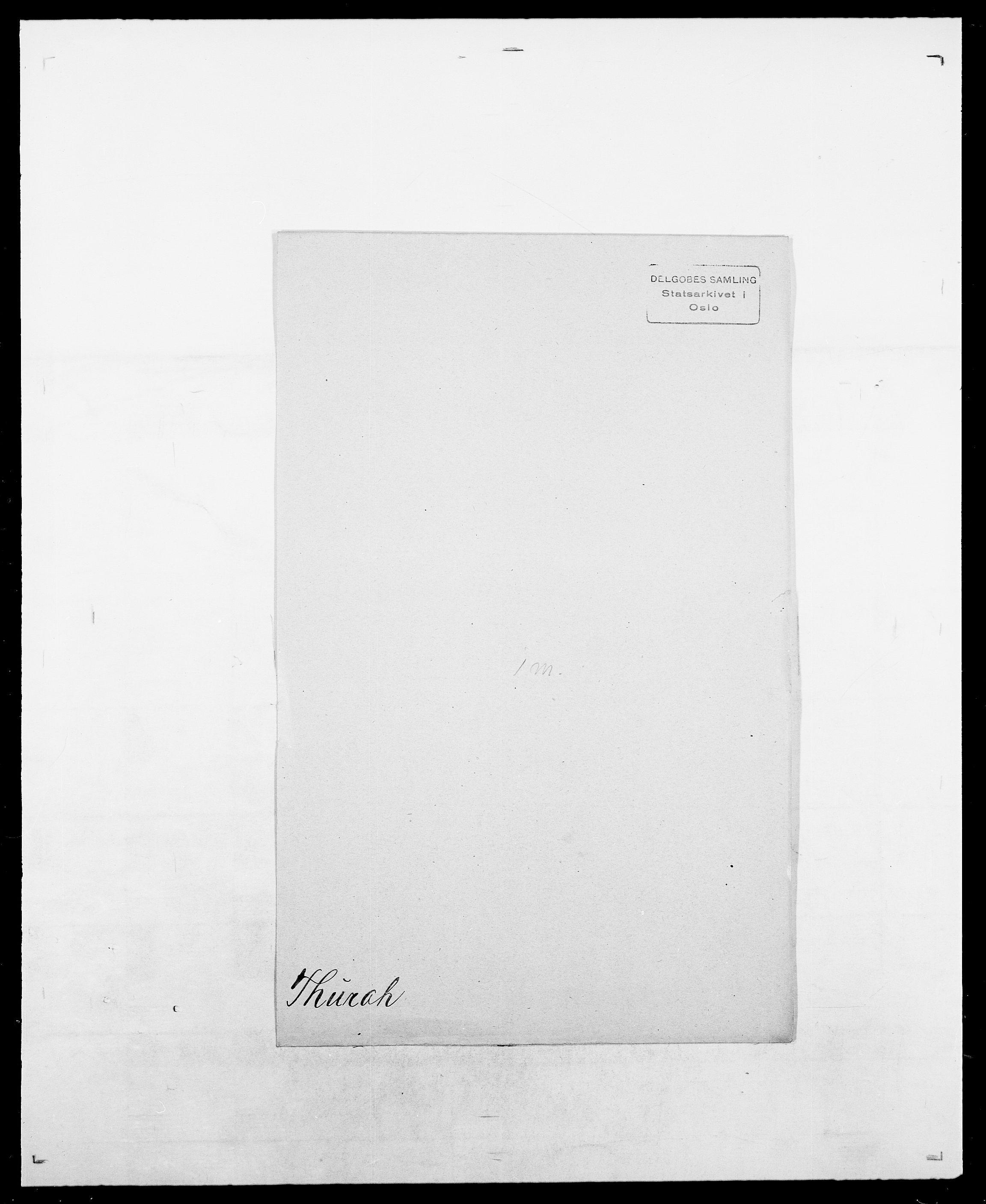 SAO, Delgobe, Charles Antoine - samling, D/Da/L0038: Svanenskjold - Thornsohn, s. 1041