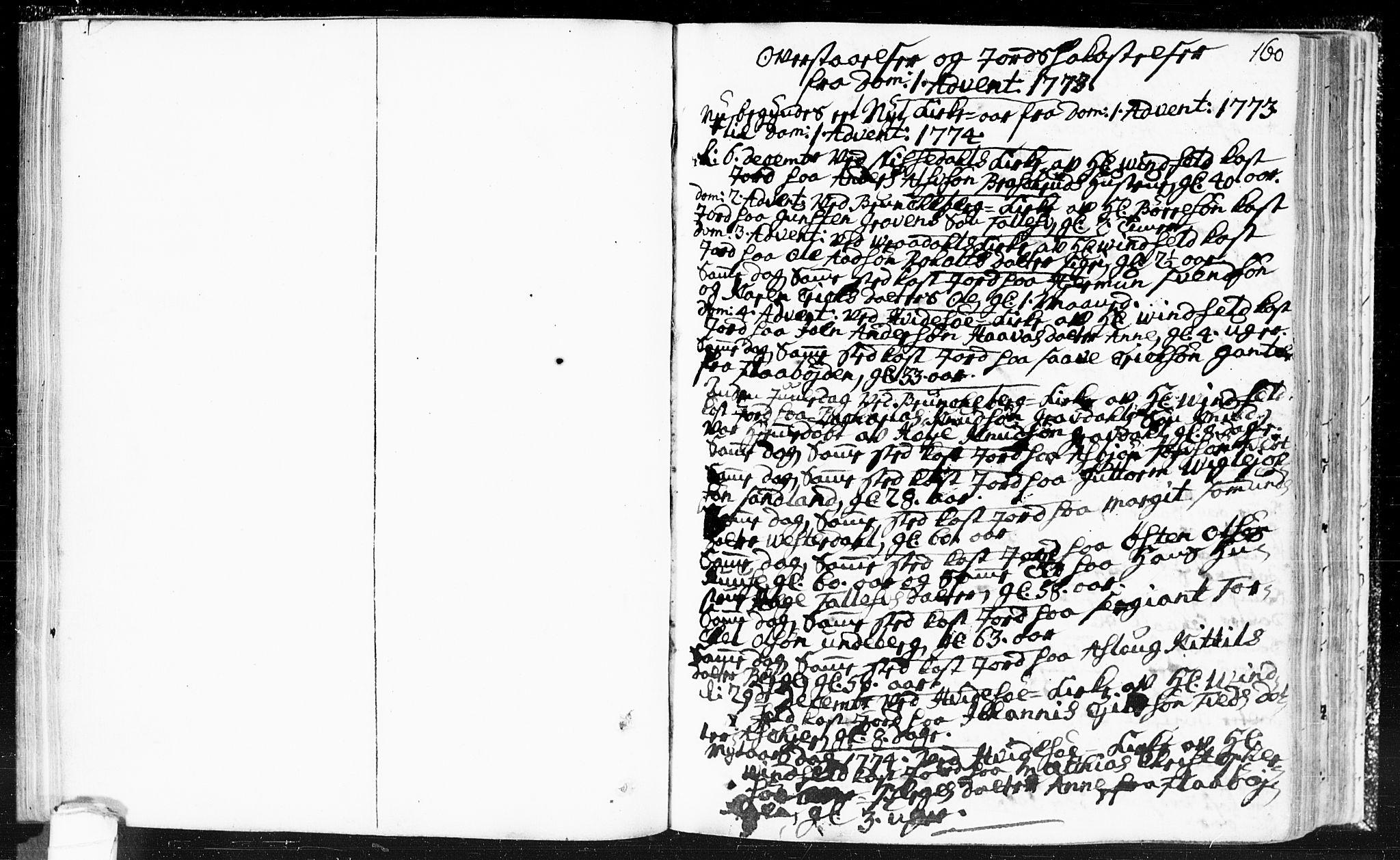 SAKO, Kviteseid kirkebøker, F/Fa/L0002: Ministerialbok nr. I 2, 1773-1786, s. 160