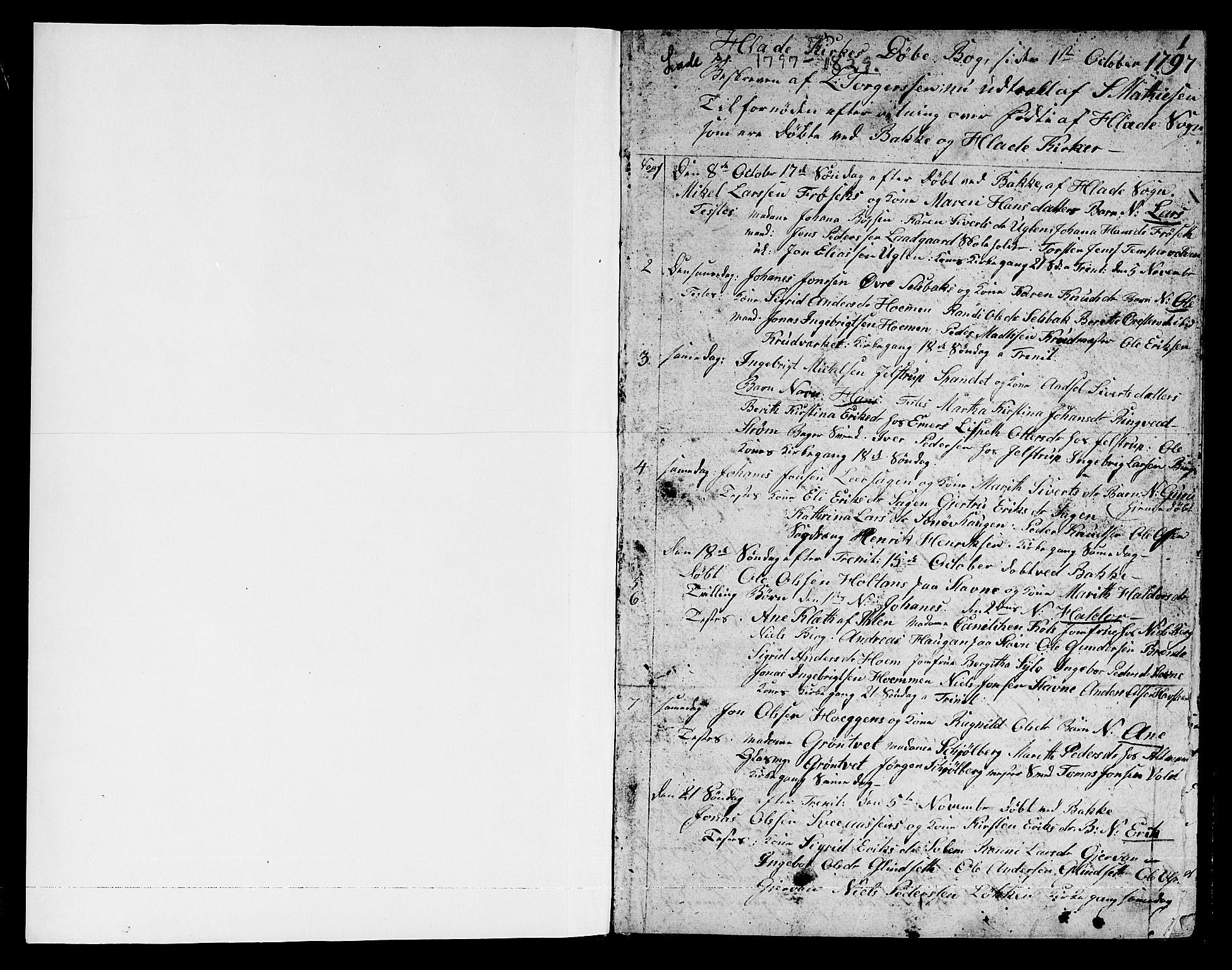 SAT, Ministerialprotokoller, klokkerbøker og fødselsregistre - Sør-Trøndelag, 606/L0306: Klokkerbok nr. 606C02, 1797-1829, s. 0-1