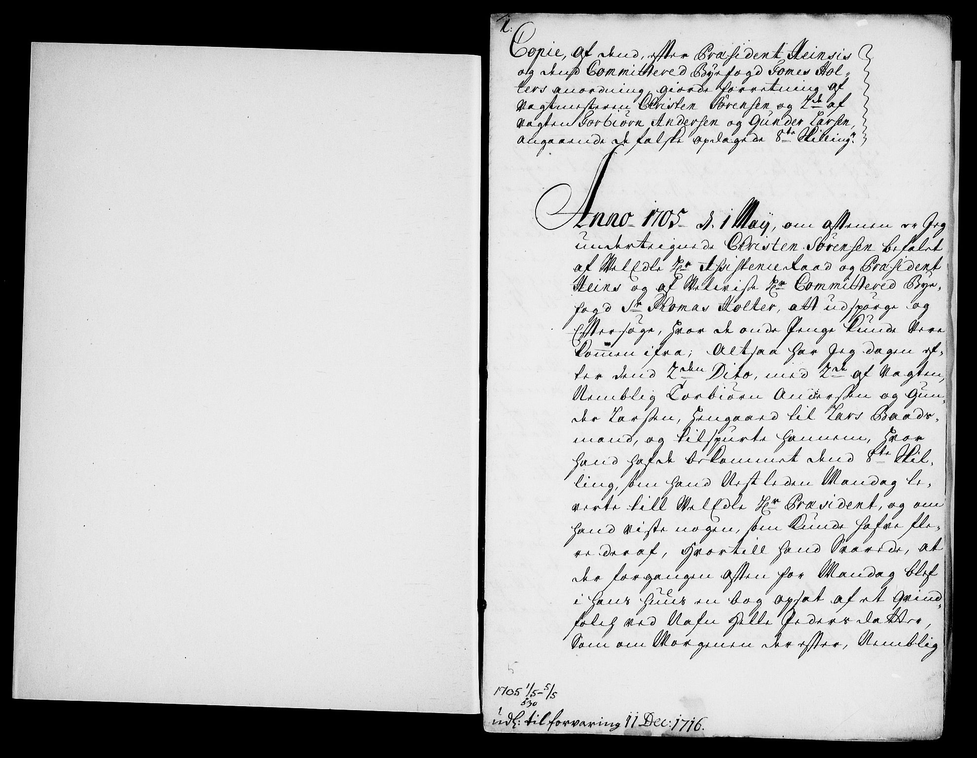 RA, Danske Kanselli, Skapsaker, G/L0019: Tillegg til skapsakene, 1616-1753, s. 331