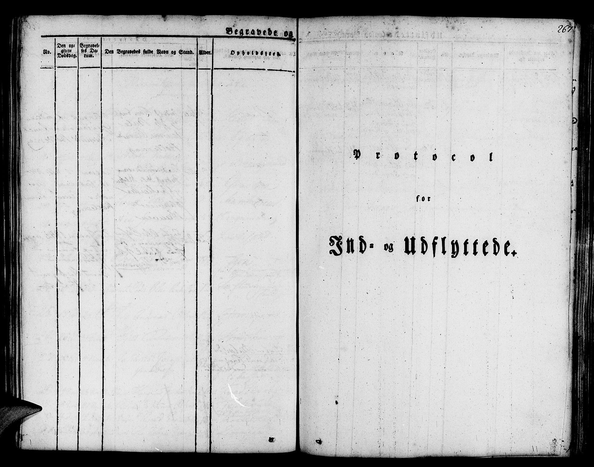 SAB, Askøy Sokneprestembete, H: Ministerialbok nr. A 4, 1825-1845, s. 267
