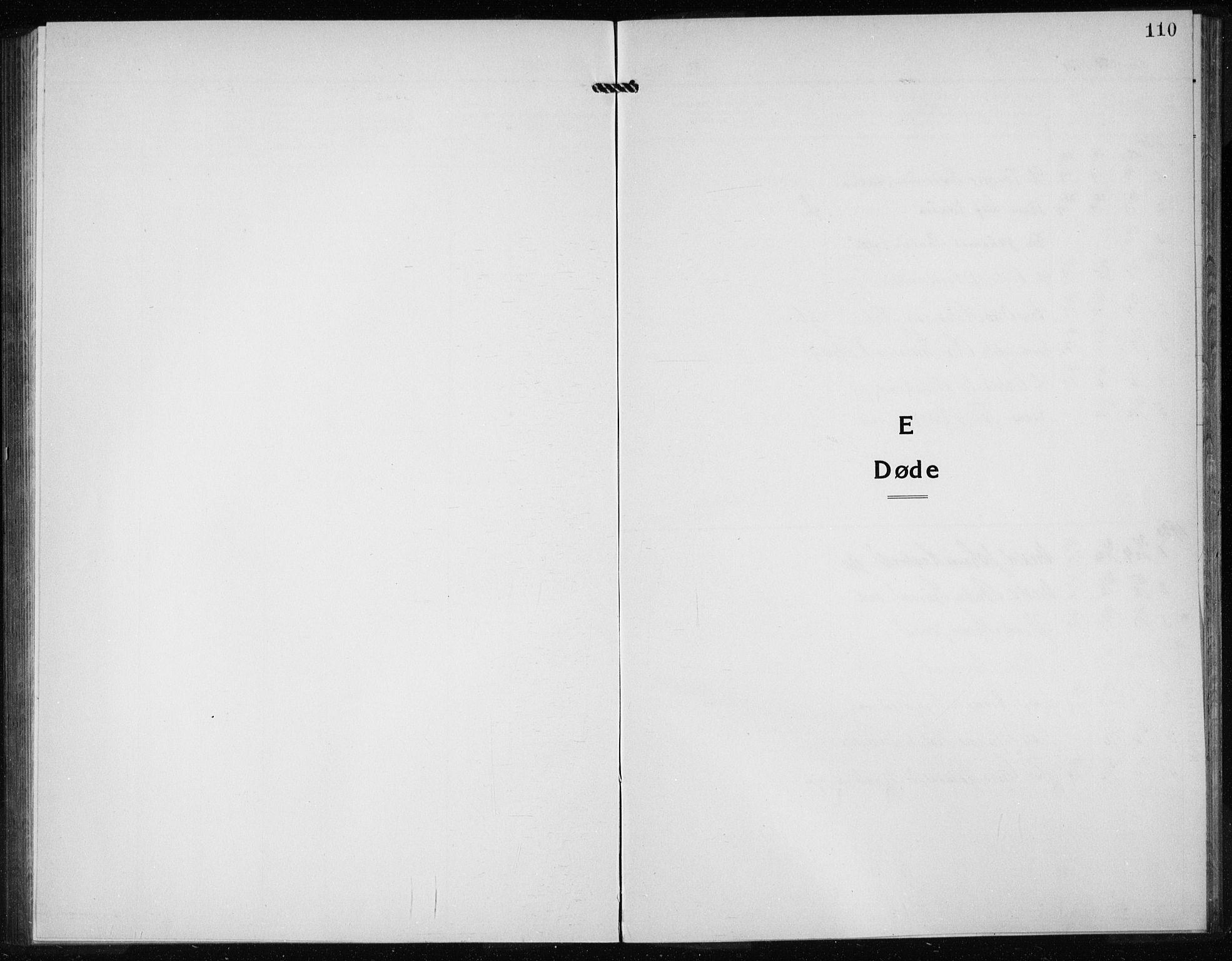 SAB, Kvinnherad Sokneprestembete, H/Haa: Ministerialbok nr. G  1, 1920-1927, s. 110