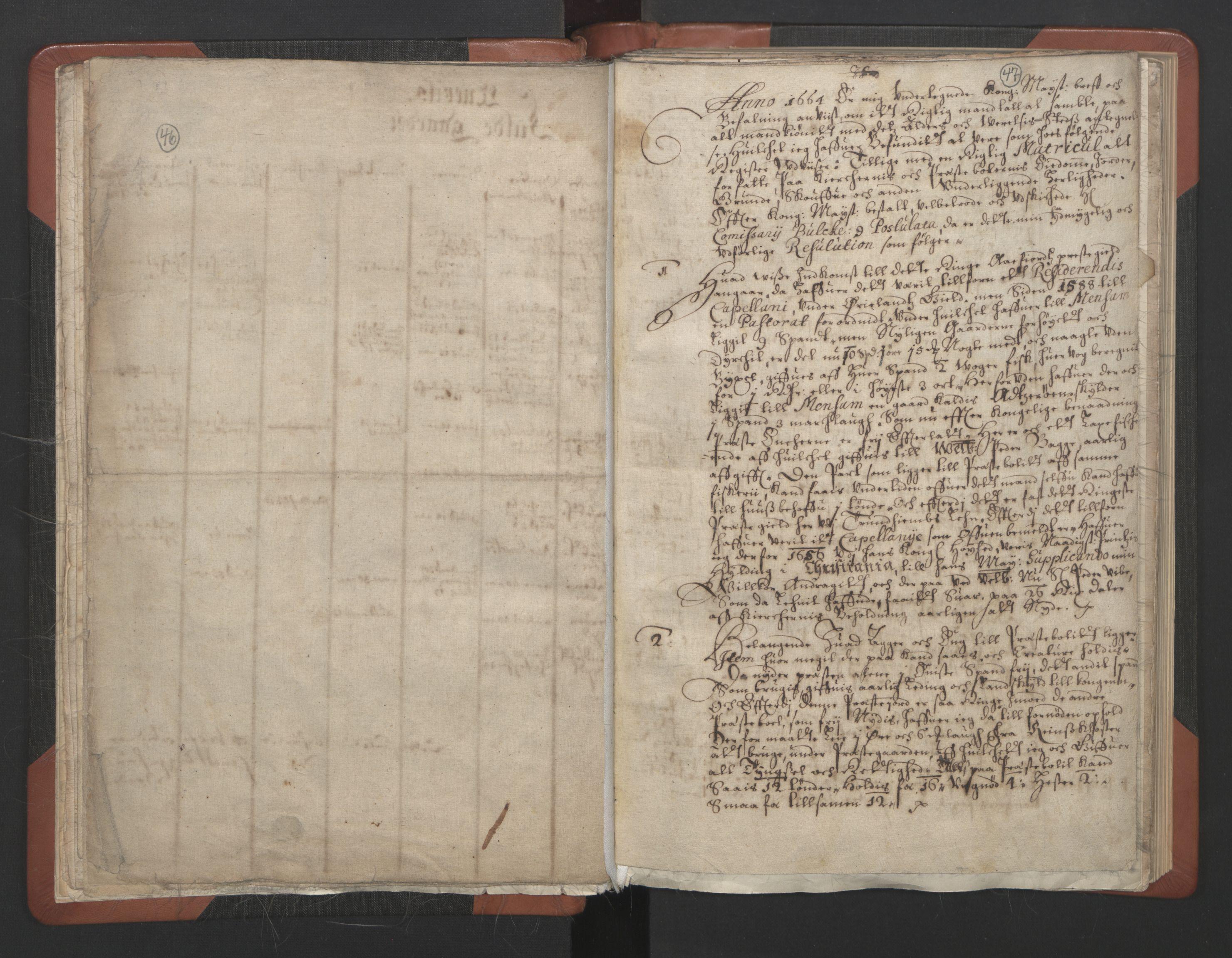 RA, Sogneprestenes manntall 1664-1666, nr. 30: Fosen prosti, 1664-1666, s. 46-47