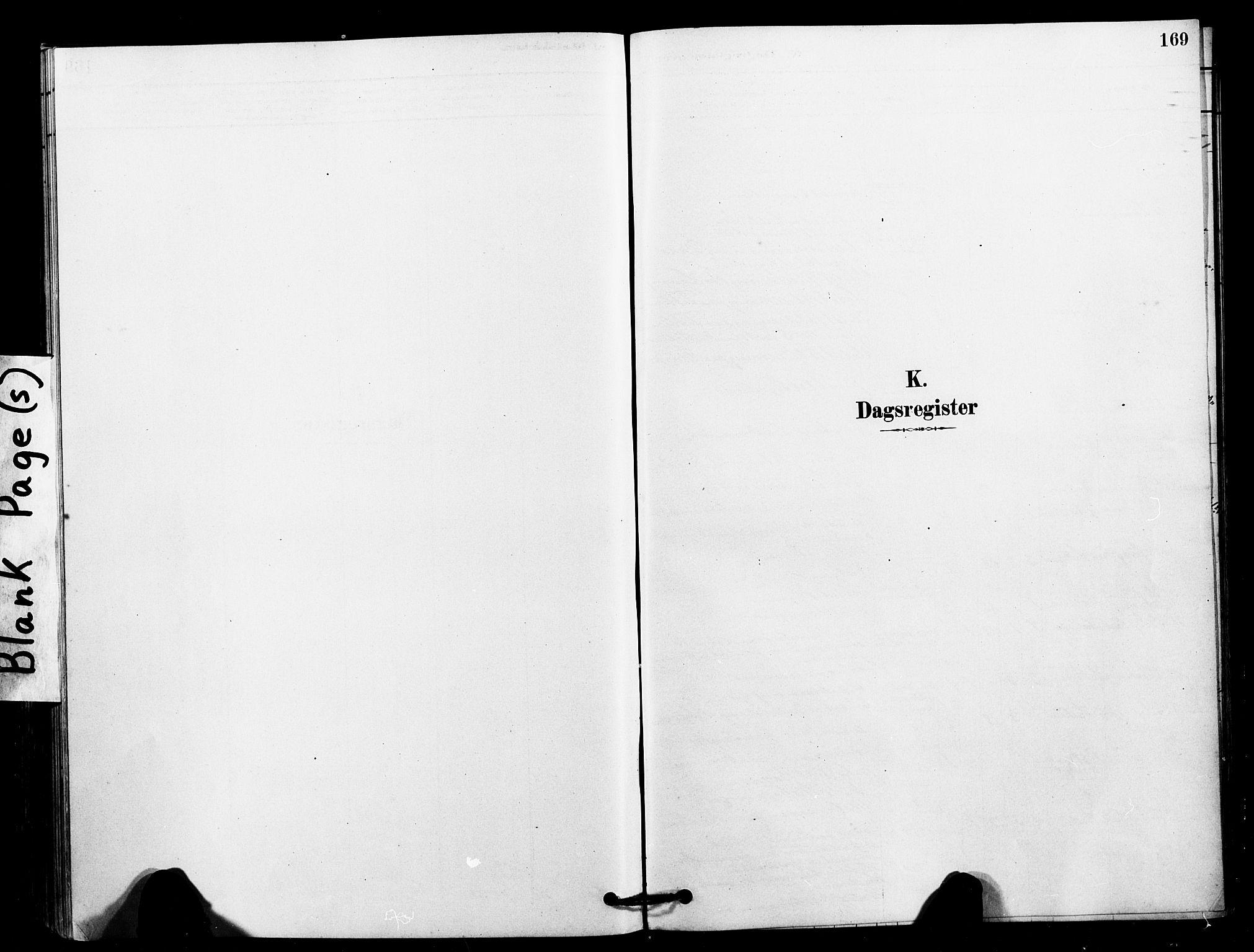 SAT, Ministerialprotokoller, klokkerbøker og fødselsregistre - Sør-Trøndelag, 641/L0595: Ministerialbok nr. 641A01, 1882-1897, s. 169
