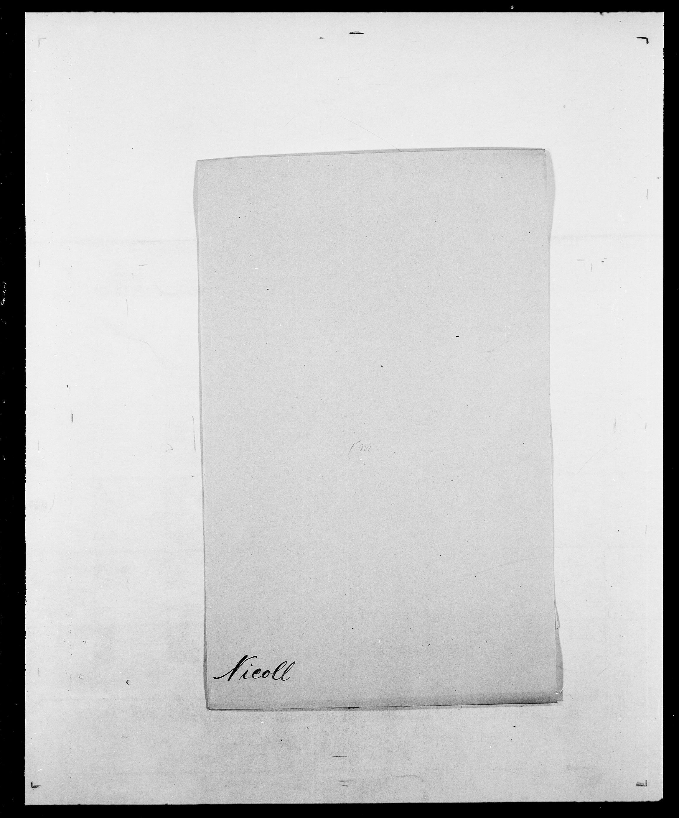 SAO, Delgobe, Charles Antoine - samling, D/Da/L0028: Naaden - Nøvik, s. 200