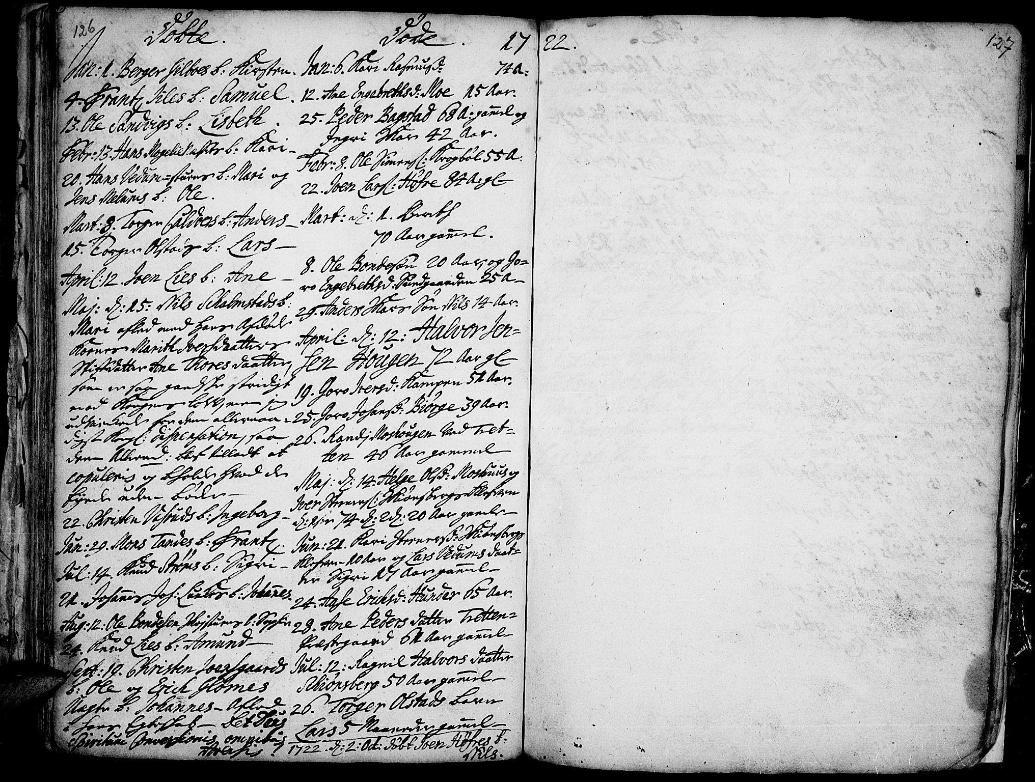 SAH, Øyer prestekontor, Ministerialbok nr. 1, 1671-1727, s. 126-127