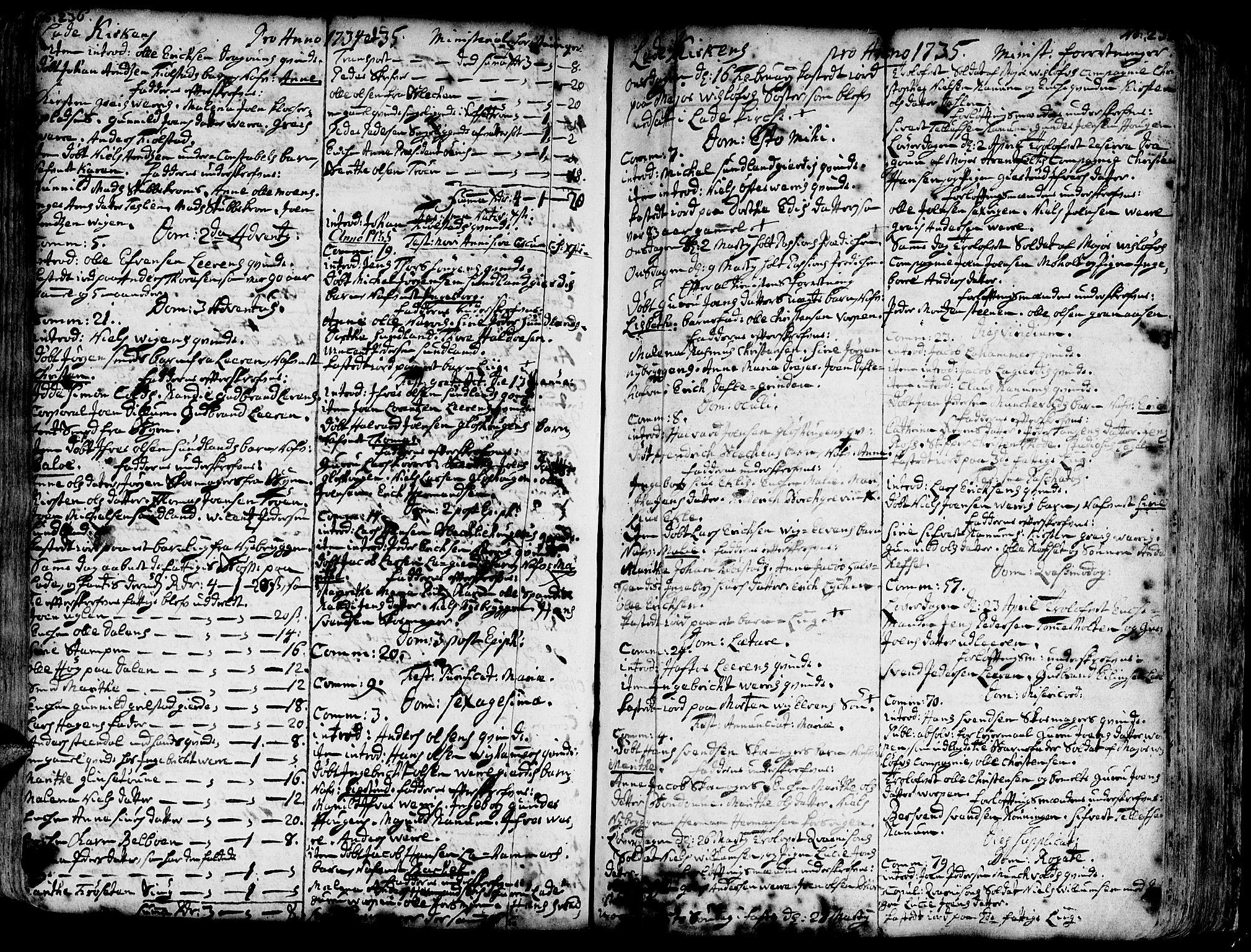 SAT, Ministerialprotokoller, klokkerbøker og fødselsregistre - Sør-Trøndelag, 606/L0275: Ministerialbok nr. 606A01 /1, 1727-1780, s. 236-237