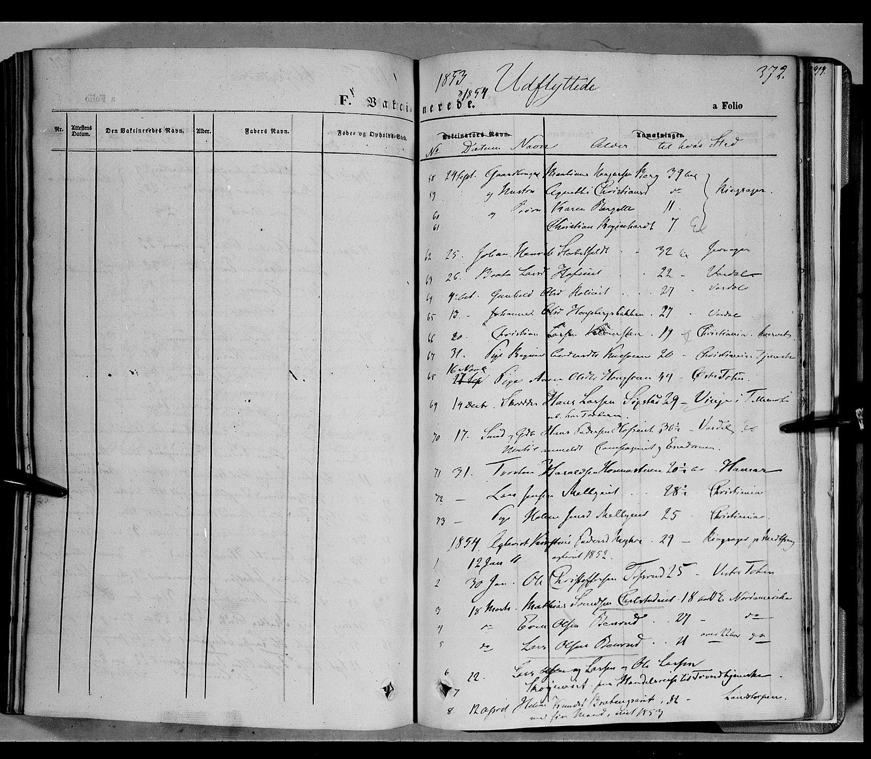 SAH, Biri prestekontor, Ministerialbok nr. 5, 1843-1854, s. 372