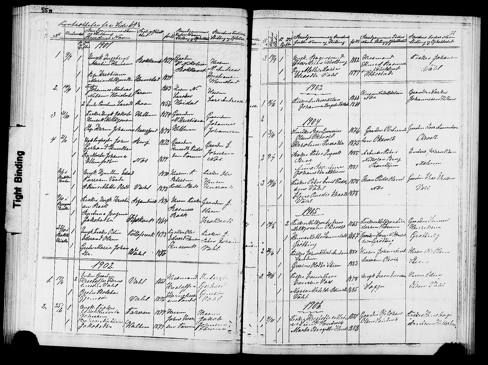 SAT, Ministerialprotokoller, klokkerbøker og fødselsregistre - Sør-Trøndelag, 652/L0653: Klokkerbok nr. 652C01, 1866-1910, s. 56