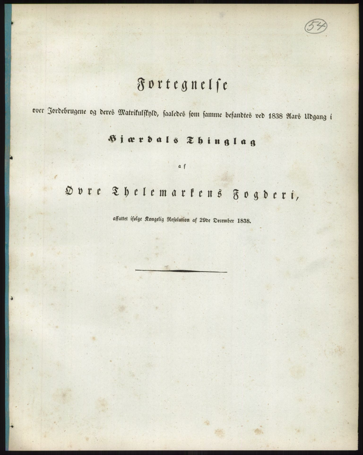 RA, 1838-matrikkelen (publikasjon)*, 1838, s. 54