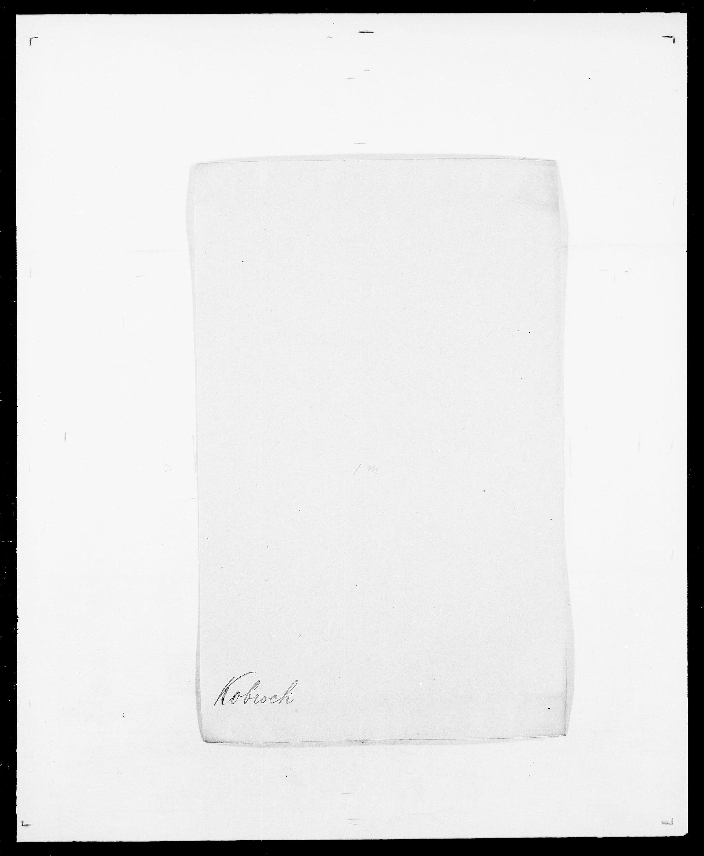 SAO, Delgobe, Charles Antoine - samling, D/Da/L0021: Klagenberg - Kristoft, s. 412