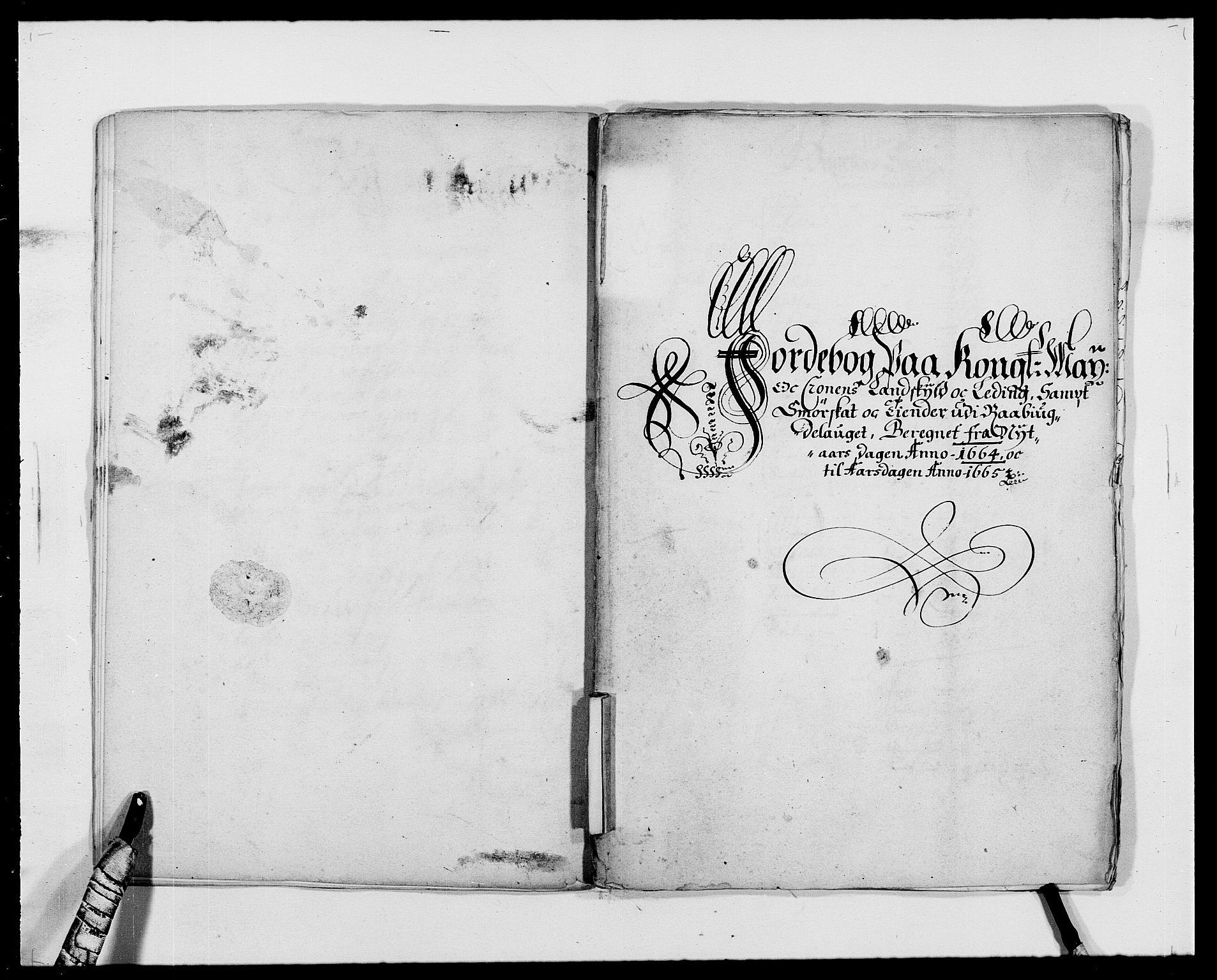 RA, Rentekammeret inntil 1814, Reviderte regnskaper, Fogderegnskap, R40/L2431: Fogderegnskap Råbyggelag, 1664-1668, s. 11