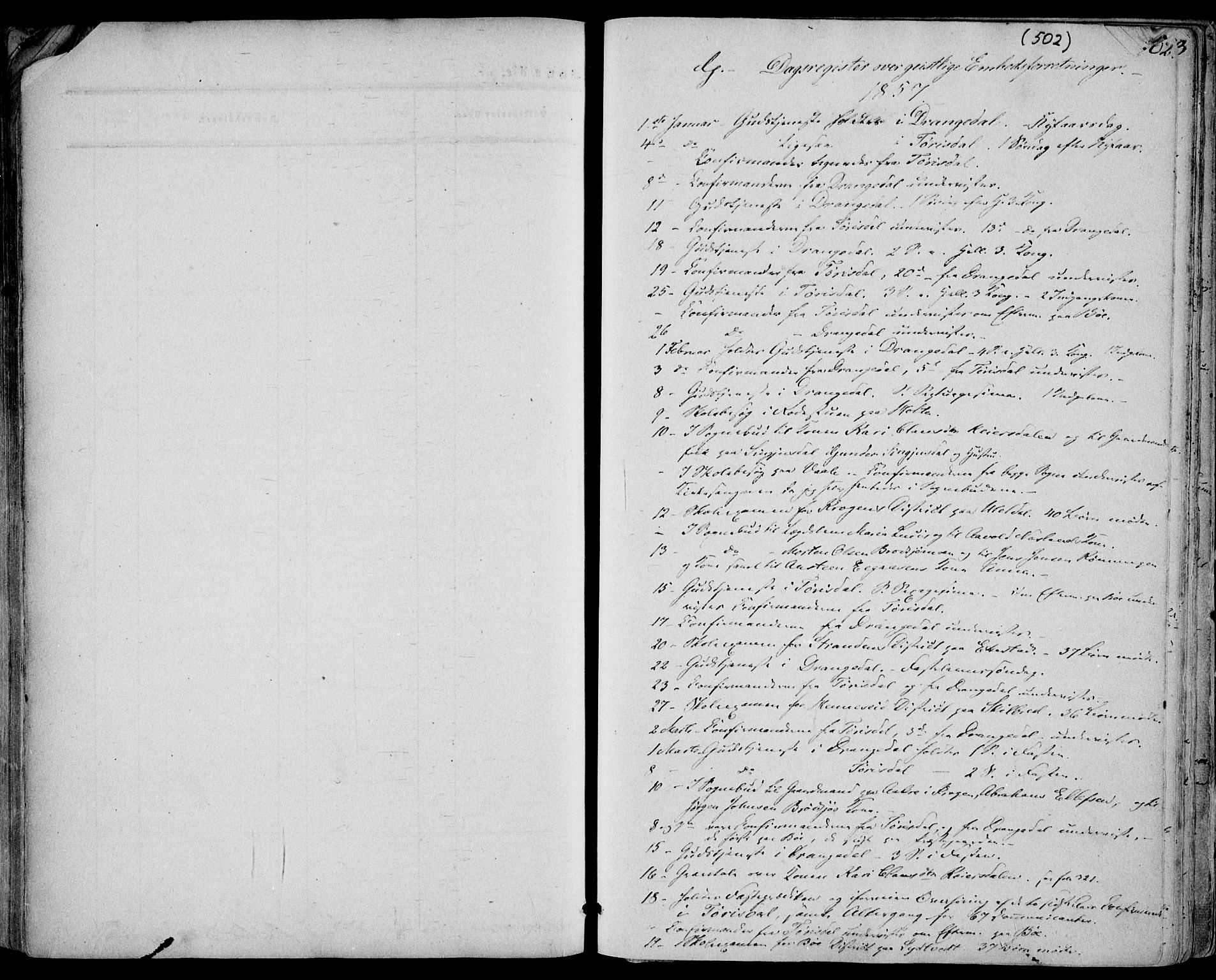 SAKO, Drangedal kirkebøker, F/Fa/L0008: Ministerialbok nr. 8, 1857-1871, s. 502