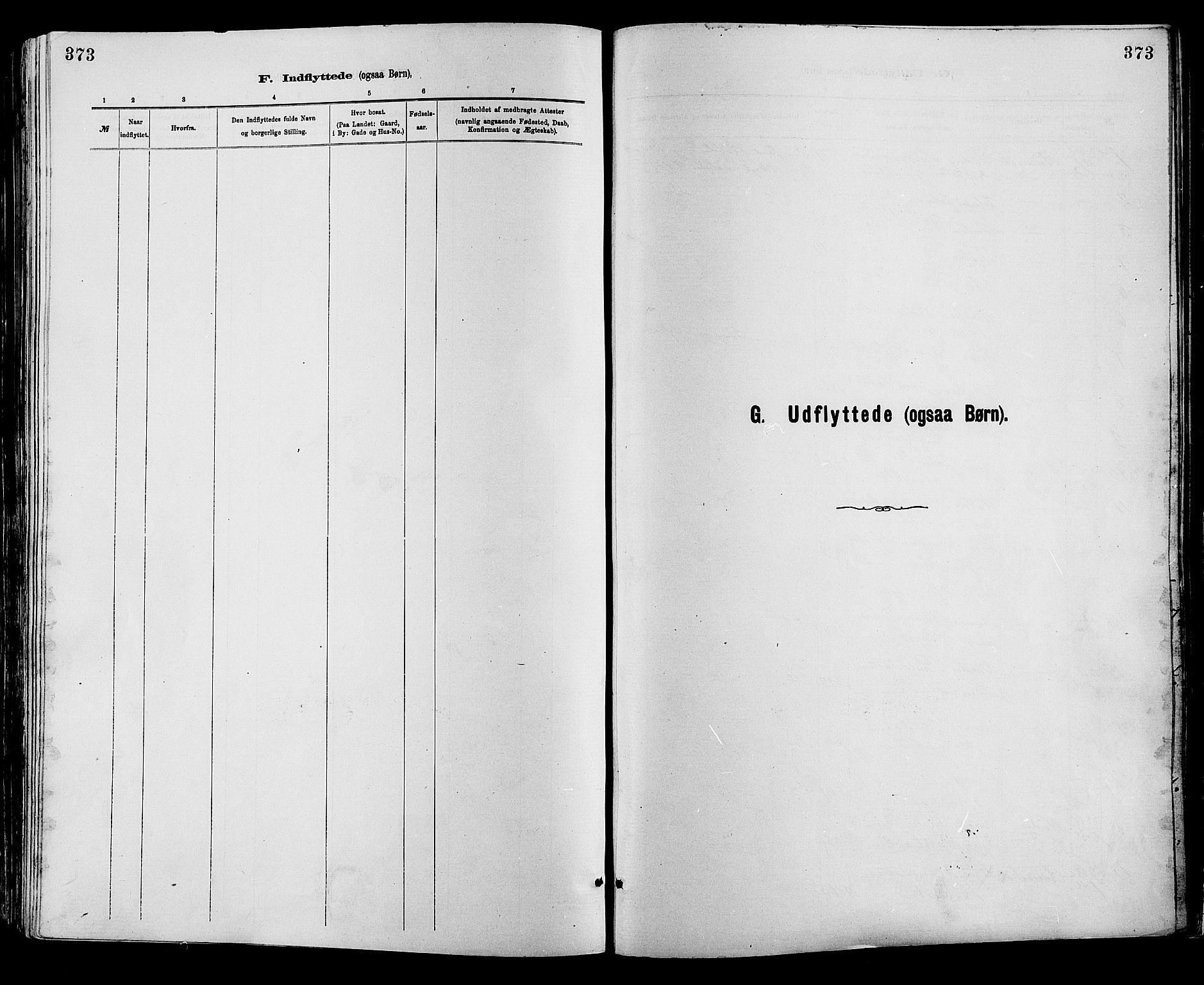SAH, Sør-Fron prestekontor, H/Ha/Haa/L0003: Ministerialbok nr. 3, 1881-1897, s. 373
