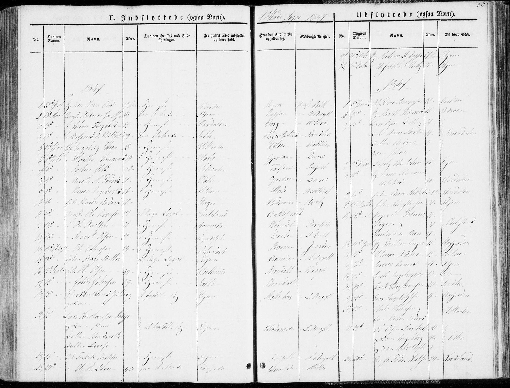 SAT, Ministerialprotokoller, klokkerbøker og fødselsregistre - Sør-Trøndelag, 606/L0290: Ministerialbok nr. 606A05, 1841-1847, s. 359