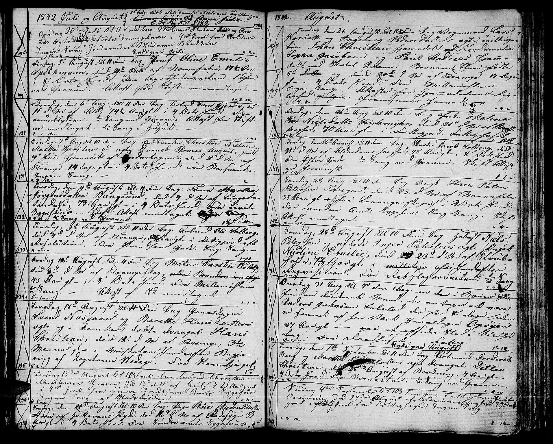SAT, Ministerialprotokoller, klokkerbøker og fødselsregistre - Sør-Trøndelag, 601/L0083: Klokkerbok nr. 601C01, 1837-1855