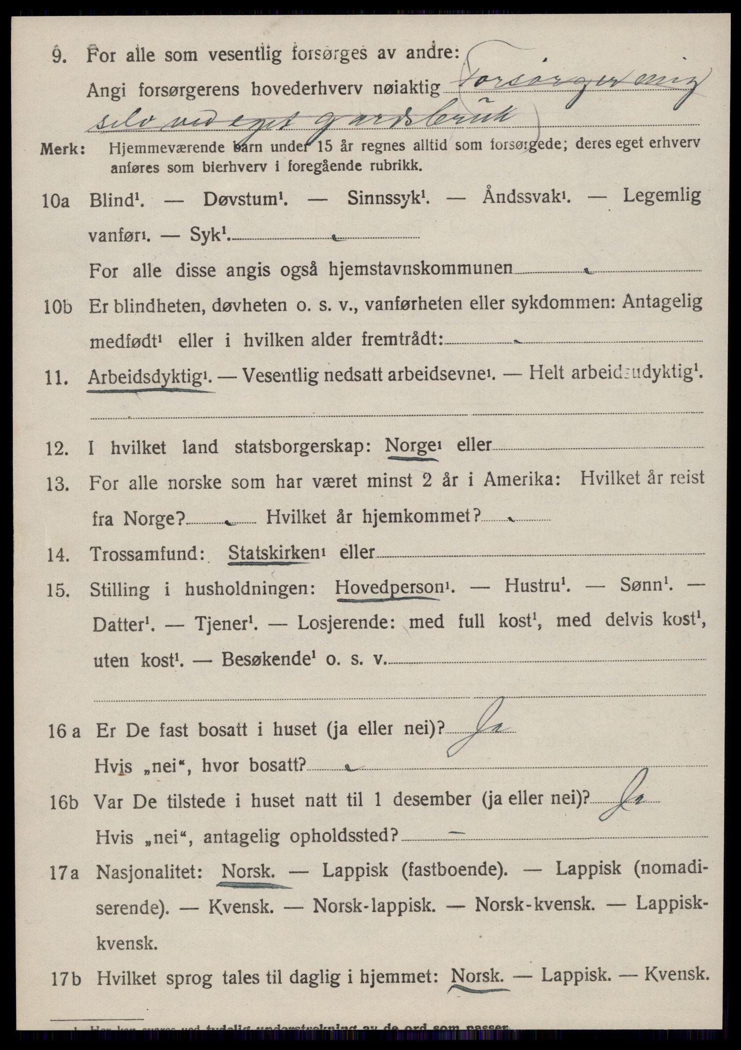 SAT, Folketelling 1920 for 1634 Oppdal herred, 1920, s. 7128