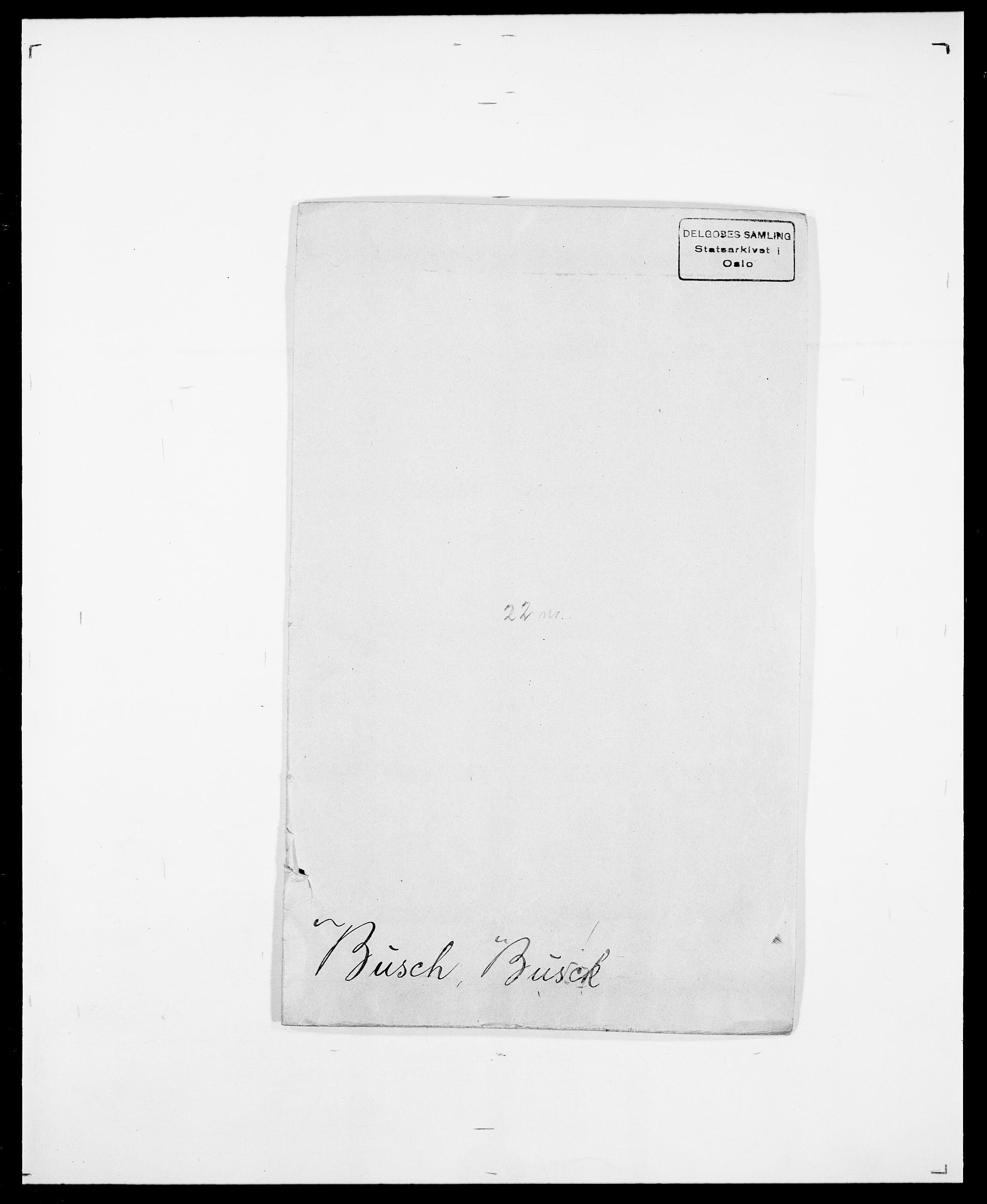 SAO, Delgobe, Charles Antoine - samling, D/Da/L0007: Buaas - Caphengst, s. 443