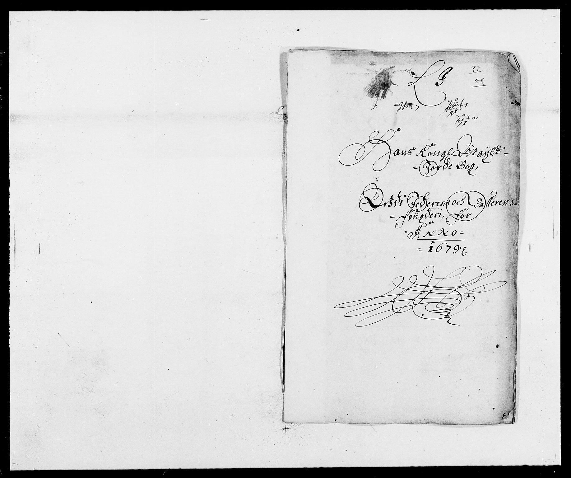 RA, Rentekammeret inntil 1814, Reviderte regnskaper, Fogderegnskap, R46/L2719: Fogderegnskap Jæren og Dalane, 1679, s. 274