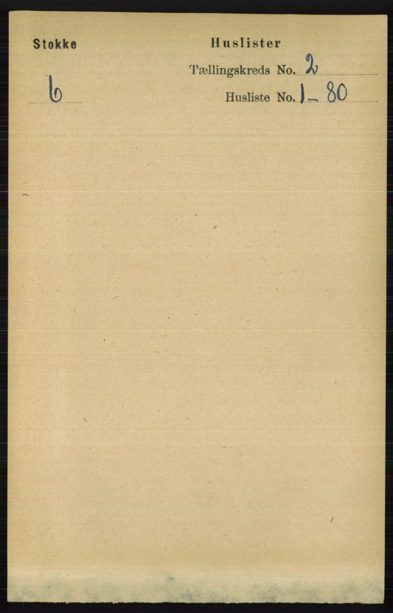 RA, Folketelling 1891 for 0720 Stokke herred, 1891, s. 862