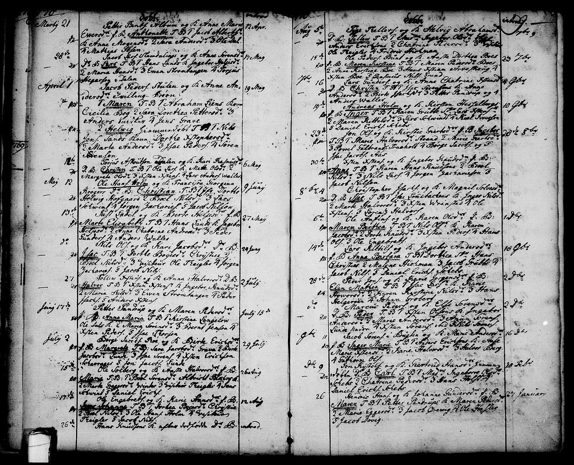 SAKO, Brevik kirkebøker, F/Fa/L0003: Ministerialbok nr. 3, 1764-1814, s. 9