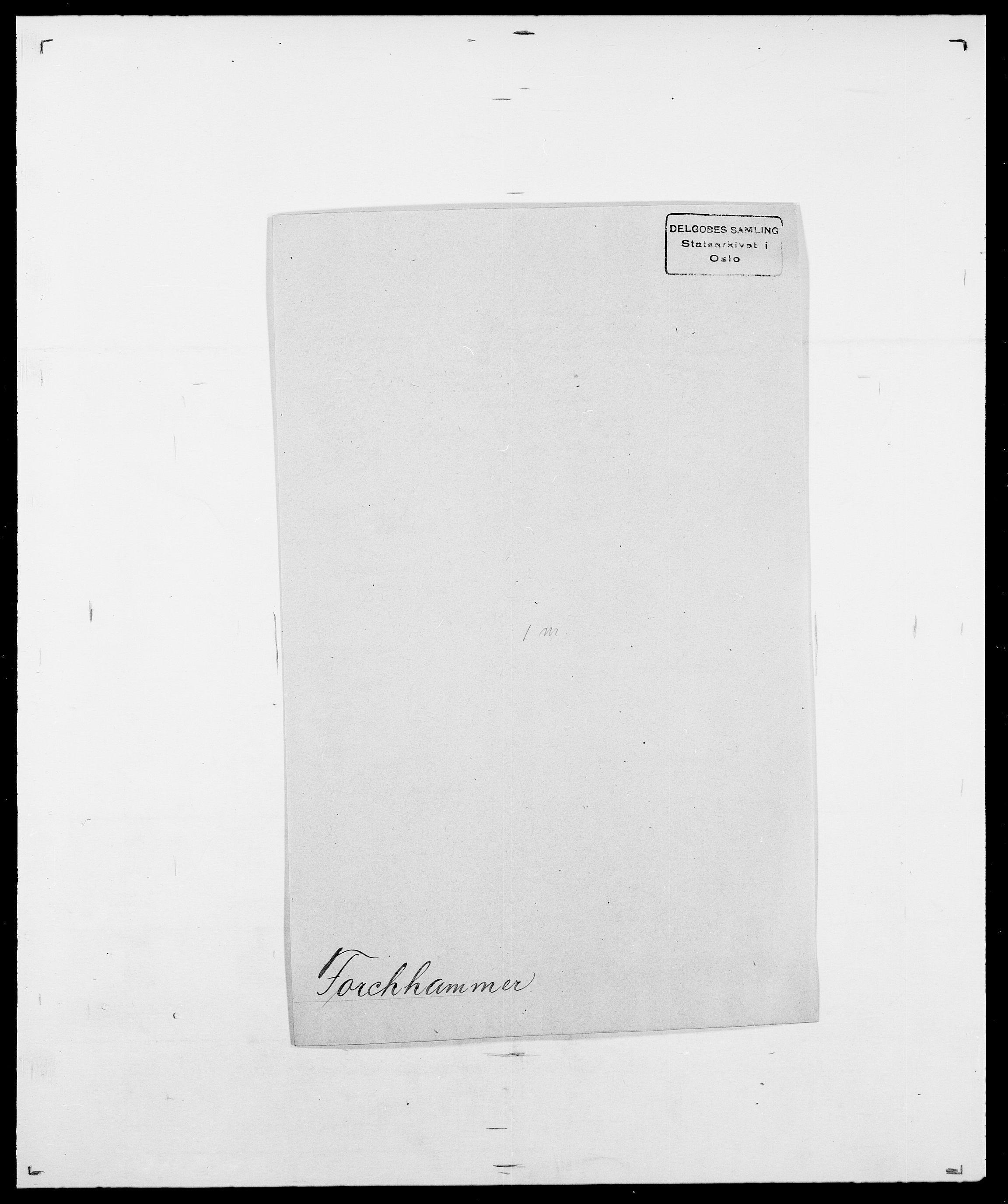 SAO, Delgobe, Charles Antoine - samling, D/Da/L0012: Flor, Floer, Flohr - Fritzner, s. 587