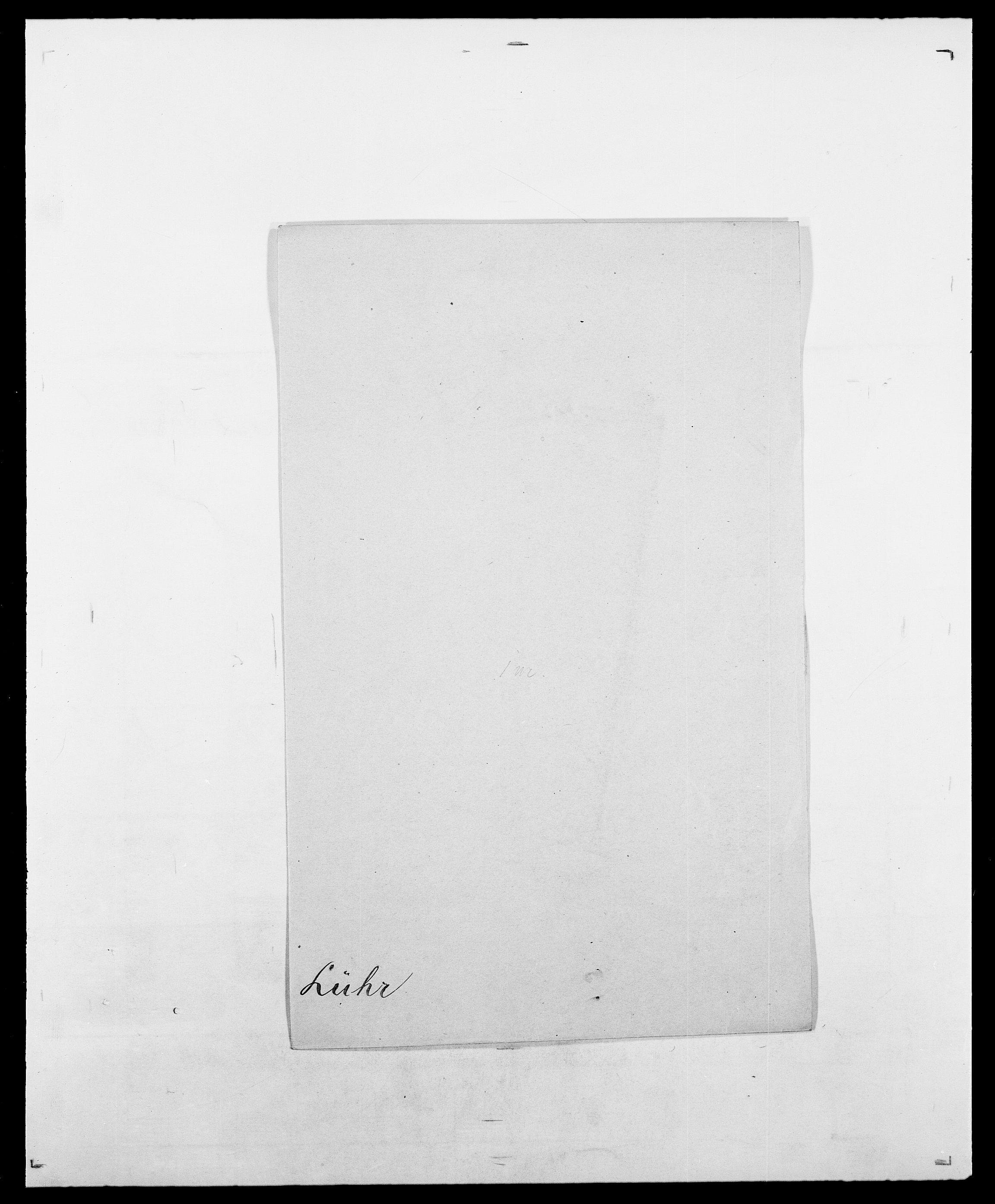 SAO, Delgobe, Charles Antoine - samling, D/Da/L0024: Lobech - Lærum, s. 710
