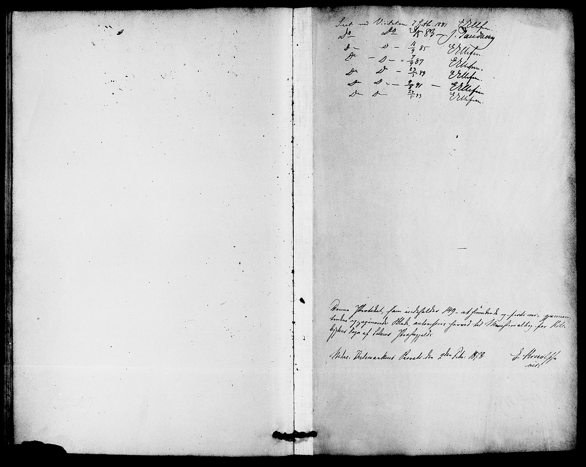 SAKO, Solum kirkebøker, F/Fc/L0001: Ministerialbok nr. III 1, 1877-1891