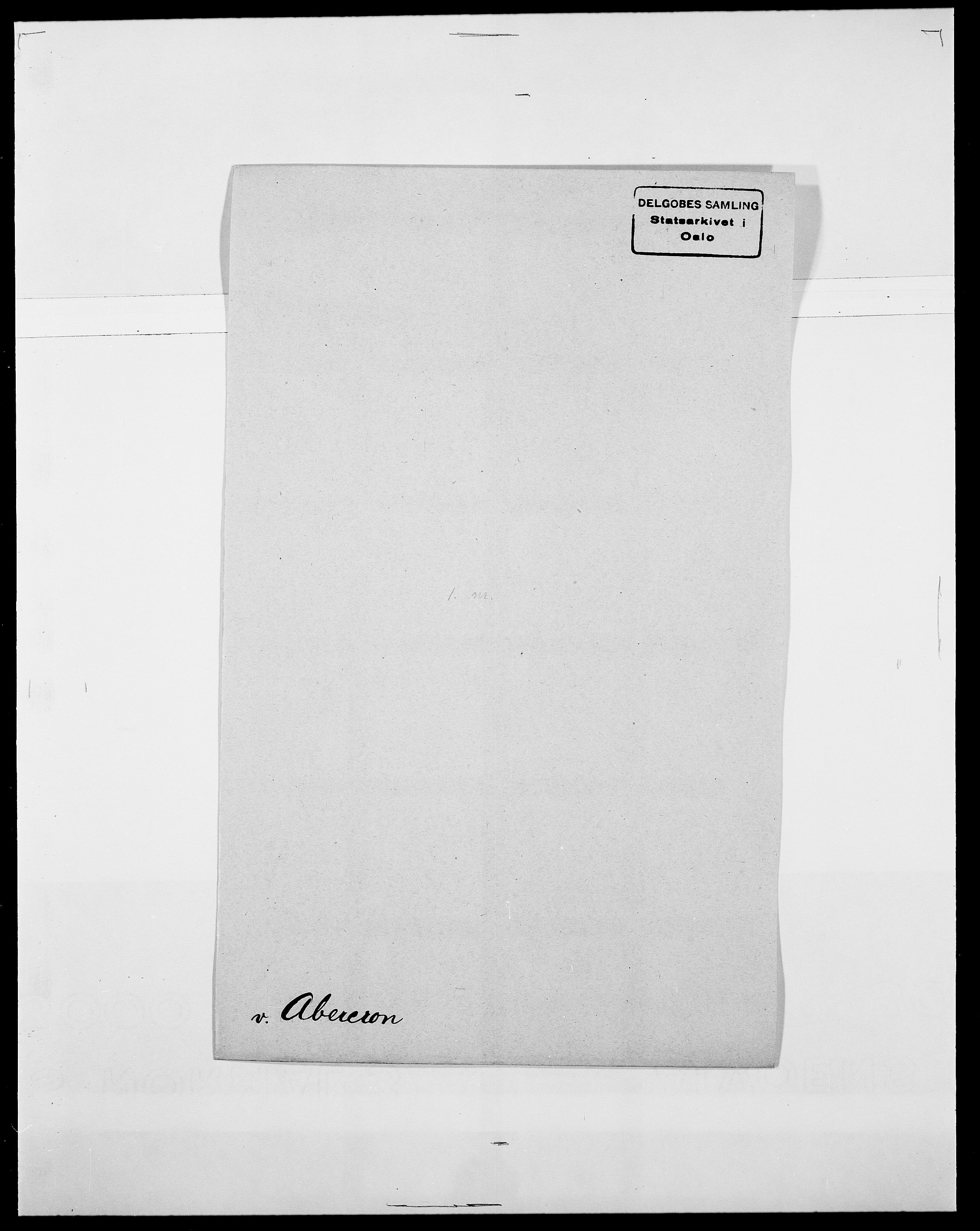 SAO, Delgobe, Charles Antoine - samling, D/Da/L0001: Aabye - Angerman, s. 208