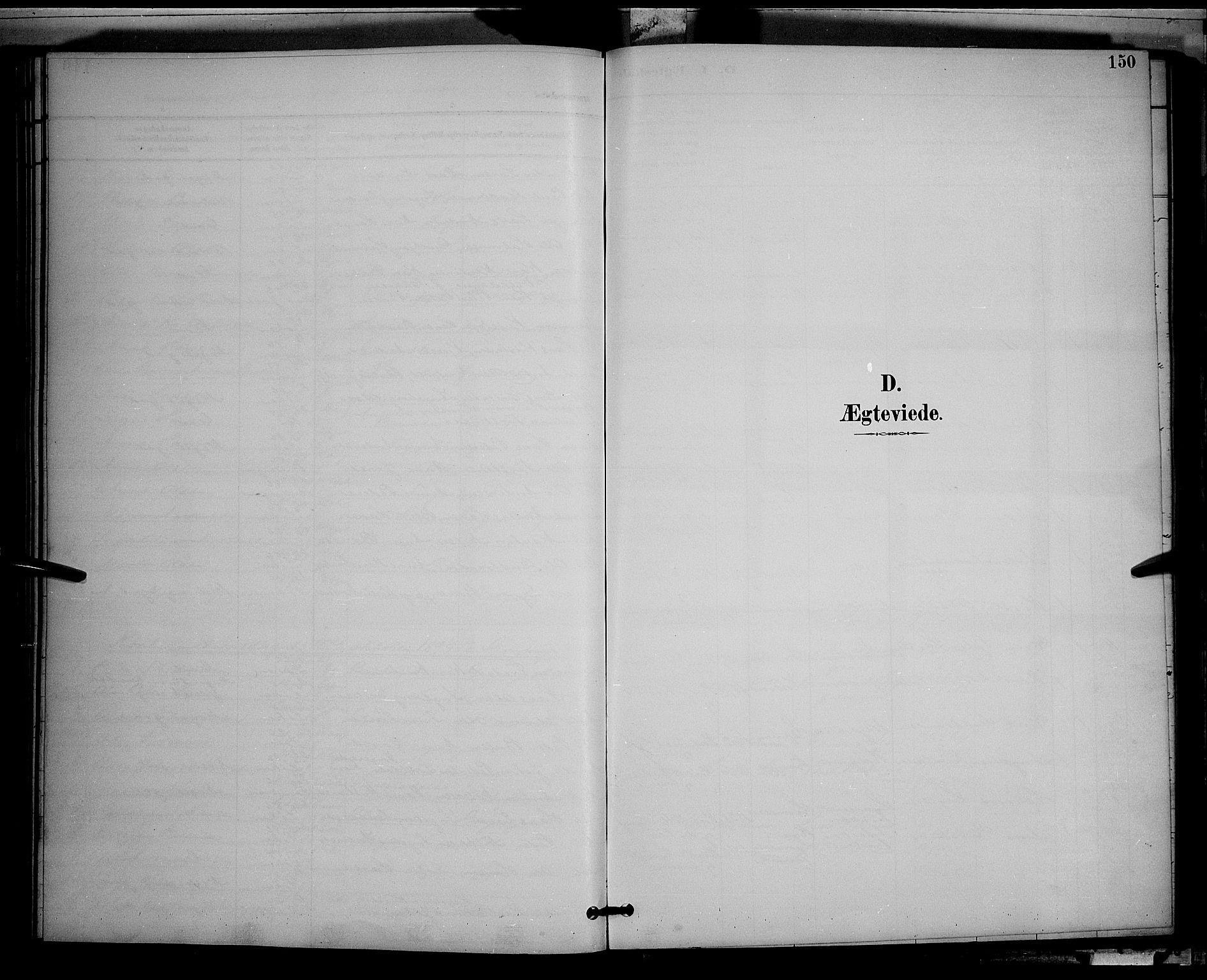 SAH, Gran prestekontor, Klokkerbok nr. 5, 1892-1900, s. 150