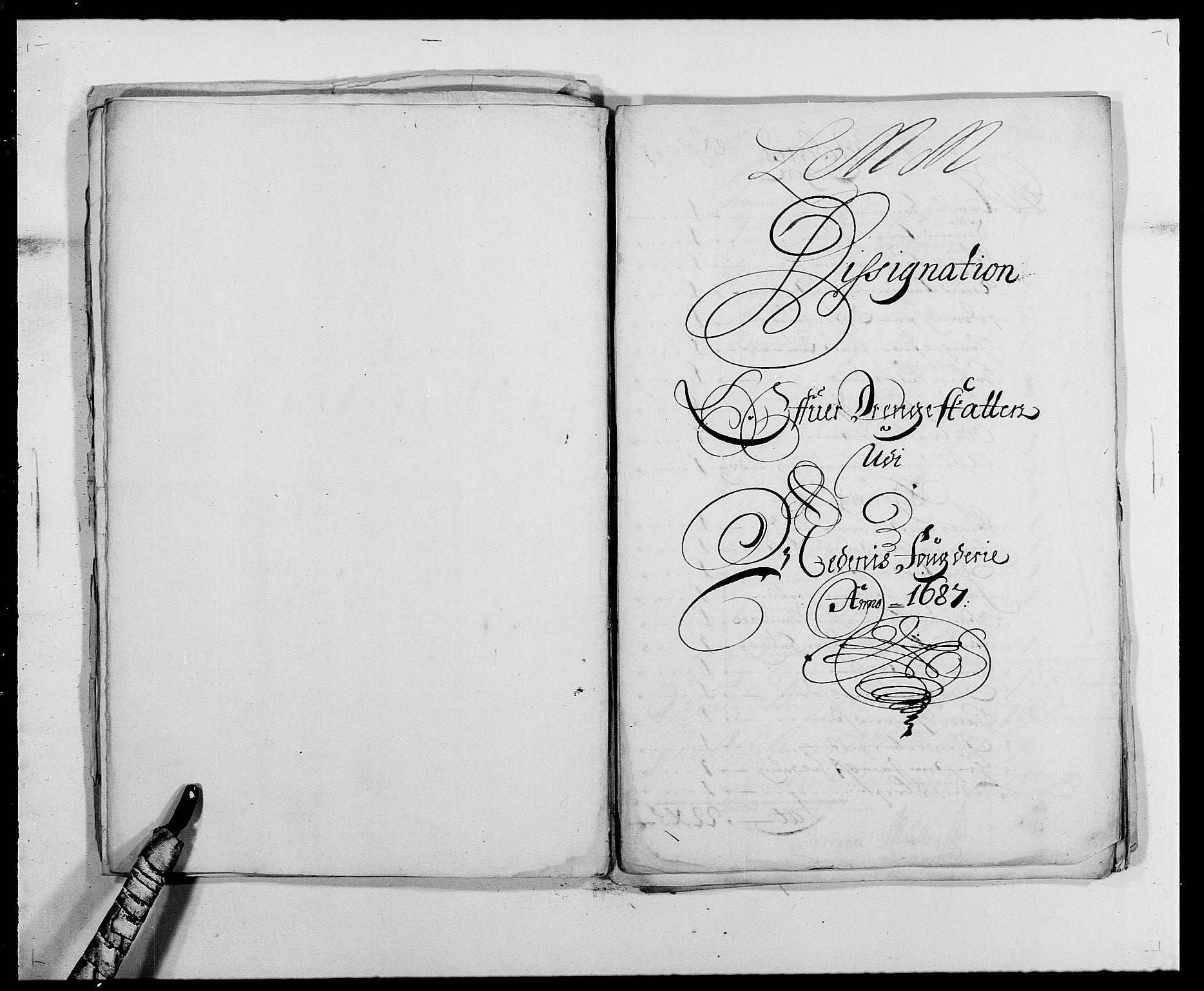 RA, Rentekammeret inntil 1814, Reviderte regnskaper, Fogderegnskap, R39/L2309: Fogderegnskap Nedenes, 1684-1689, s. 101