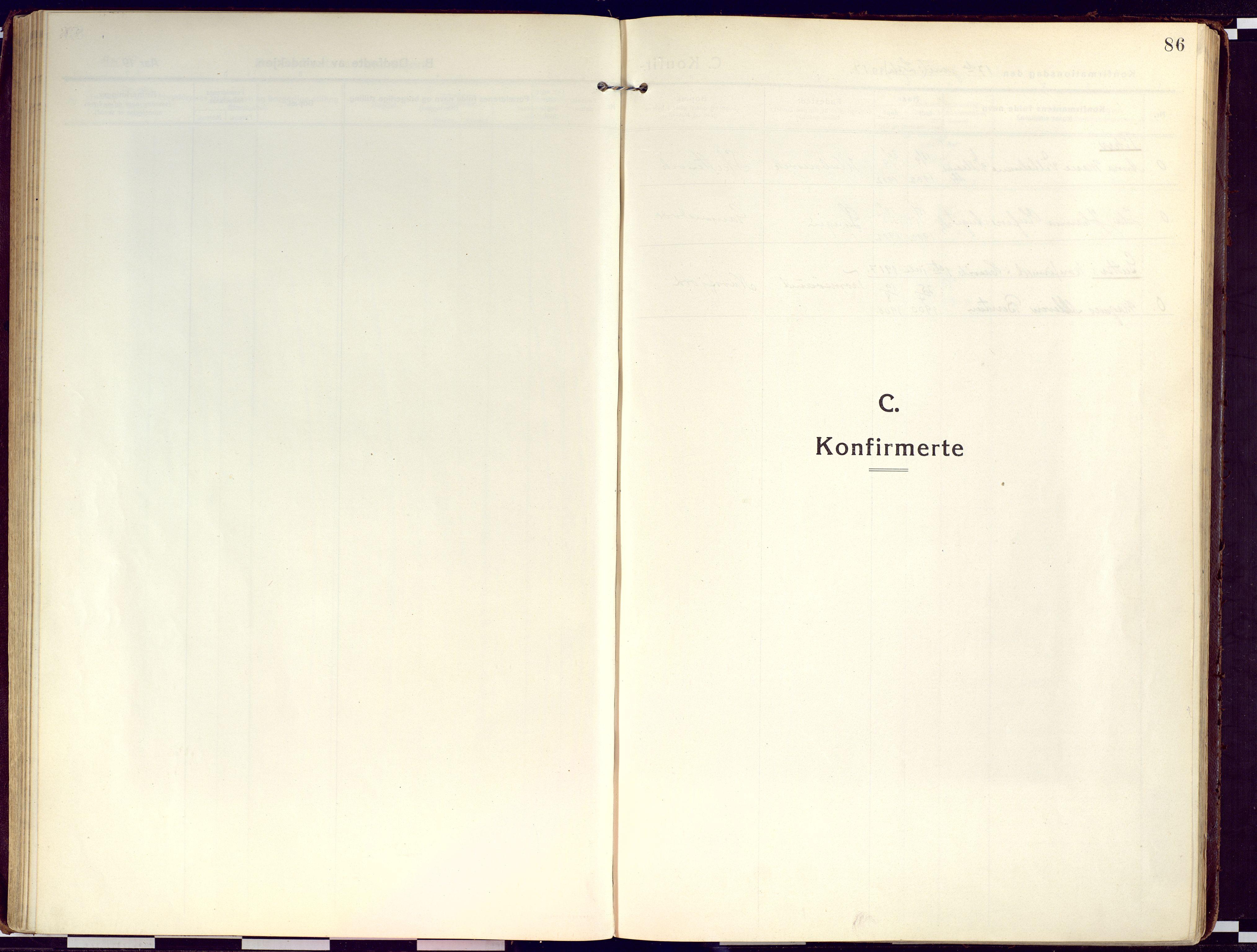 SATØ, Loppa sokneprestkontor, H/Ha/L0012kirke: Ministerialbok nr. 12, 1917-1932, s. 86