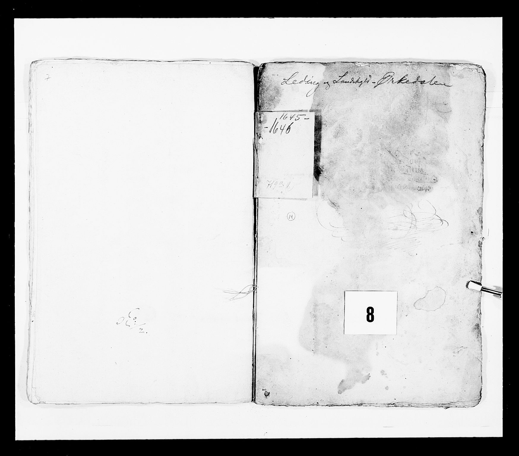 RA, Stattholderembetet 1572-1771, Ek/L0028: Jordebøker 1633-1658:, 1645-1646, s. 182
