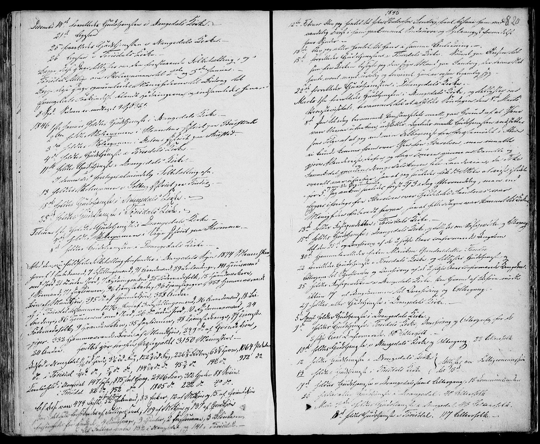 SAKO, Drangedal kirkebøker, F/Fa/L0007b: Ministerialbok nr. 7b, 1837-1856, s. 820