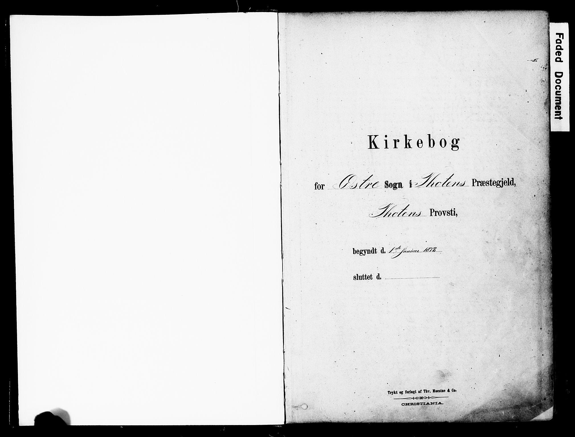 SAH, Østre Toten prestekontor, Ministerialbok nr. 6 /1, 1878-1896