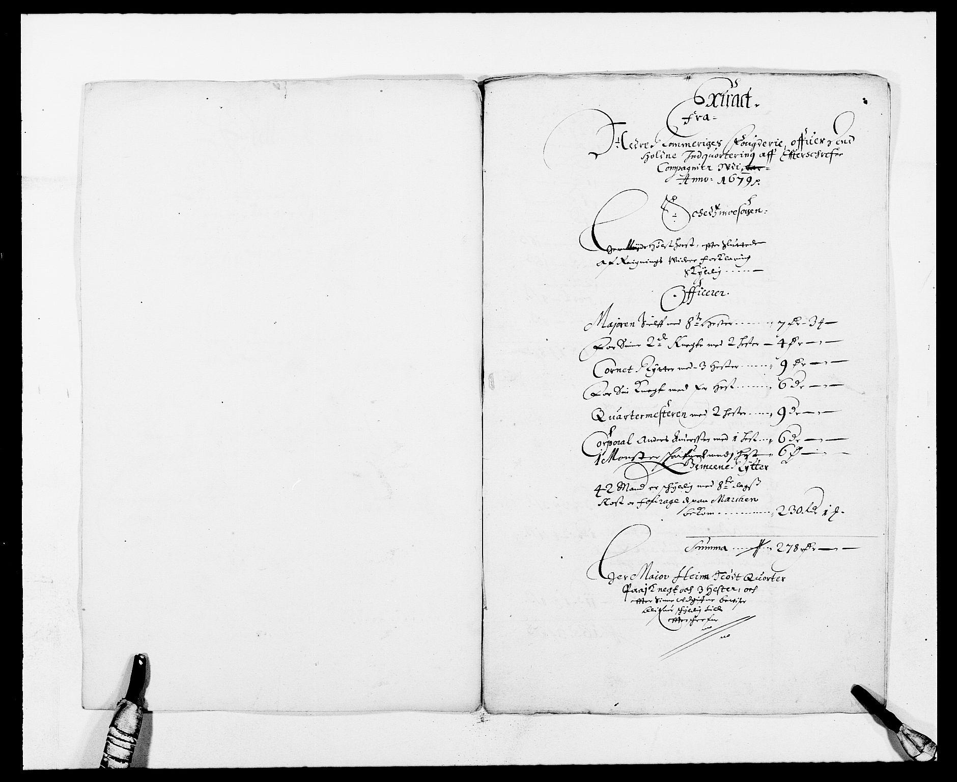 RA, Rentekammeret inntil 1814, Reviderte regnskaper, Fogderegnskap, R11/L0568: Fogderegnskap Nedre Romerike, 1679, s. 228